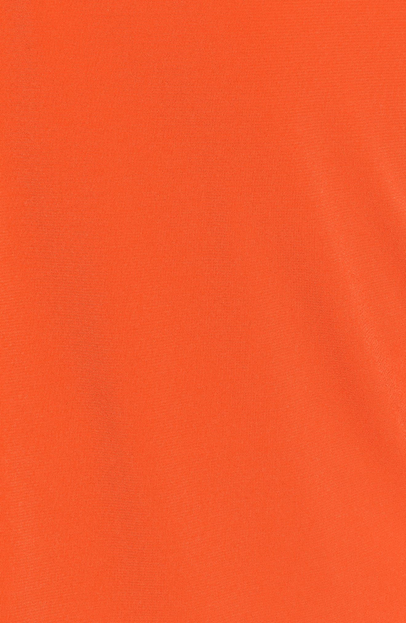 Neck Plate Cold Shoulder Top,                             Alternate thumbnail 5, color,                             816