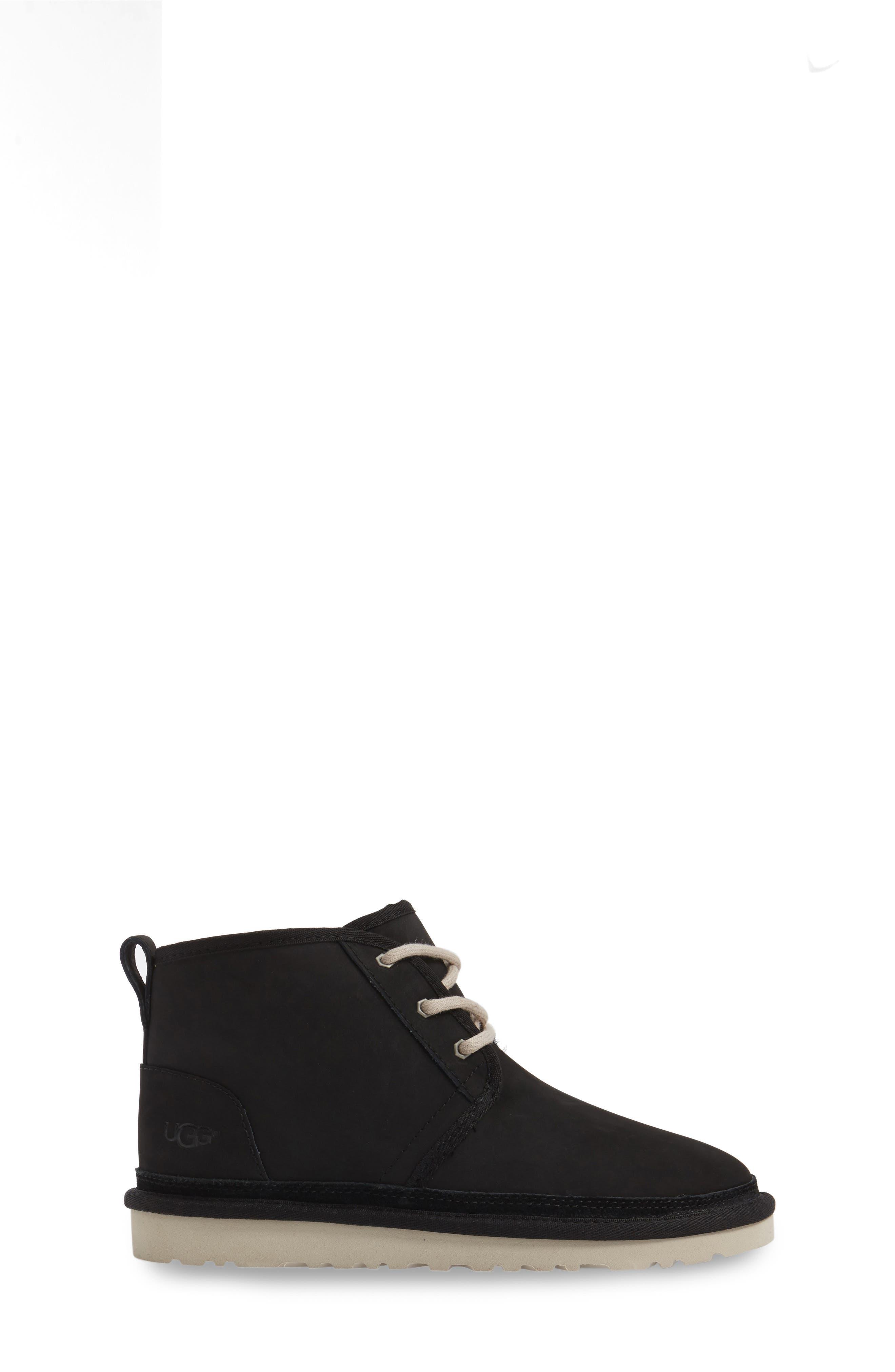Neumel Genuine Shearling Boot,                             Alternate thumbnail 3, color,                             002