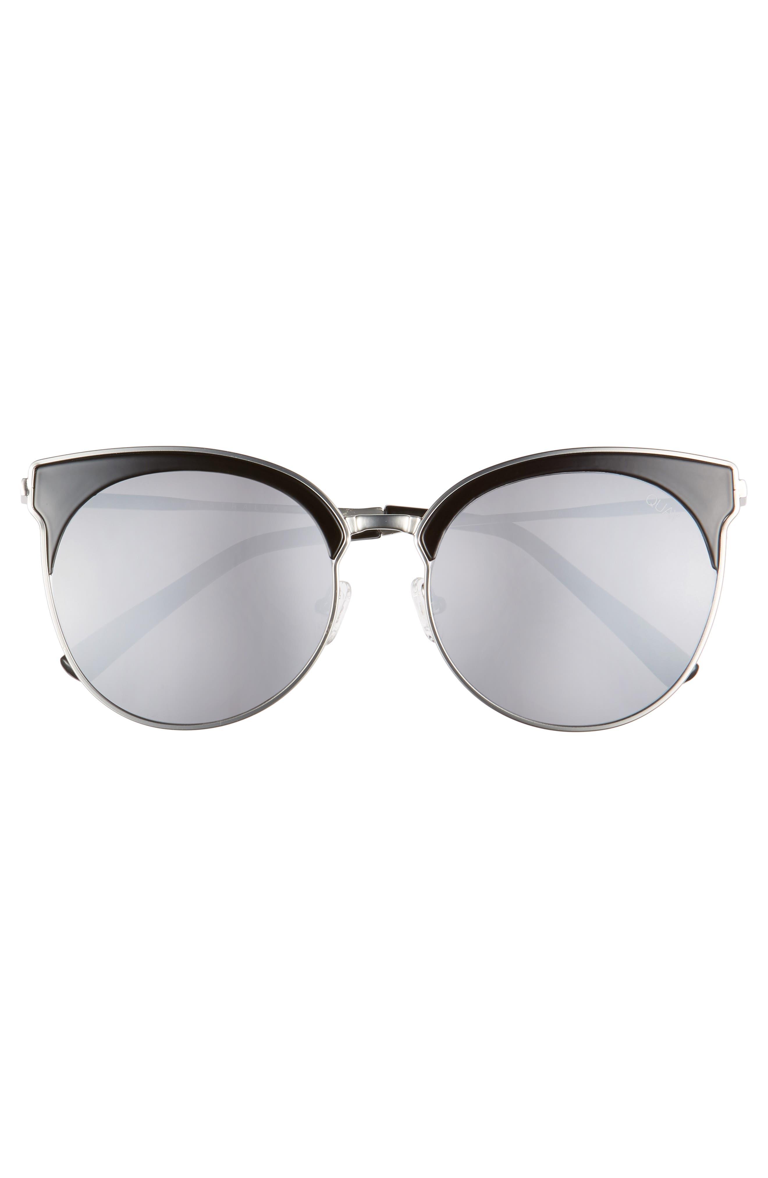 Mia Bella 56mm Sunglasses,                             Alternate thumbnail 3, color,                             001