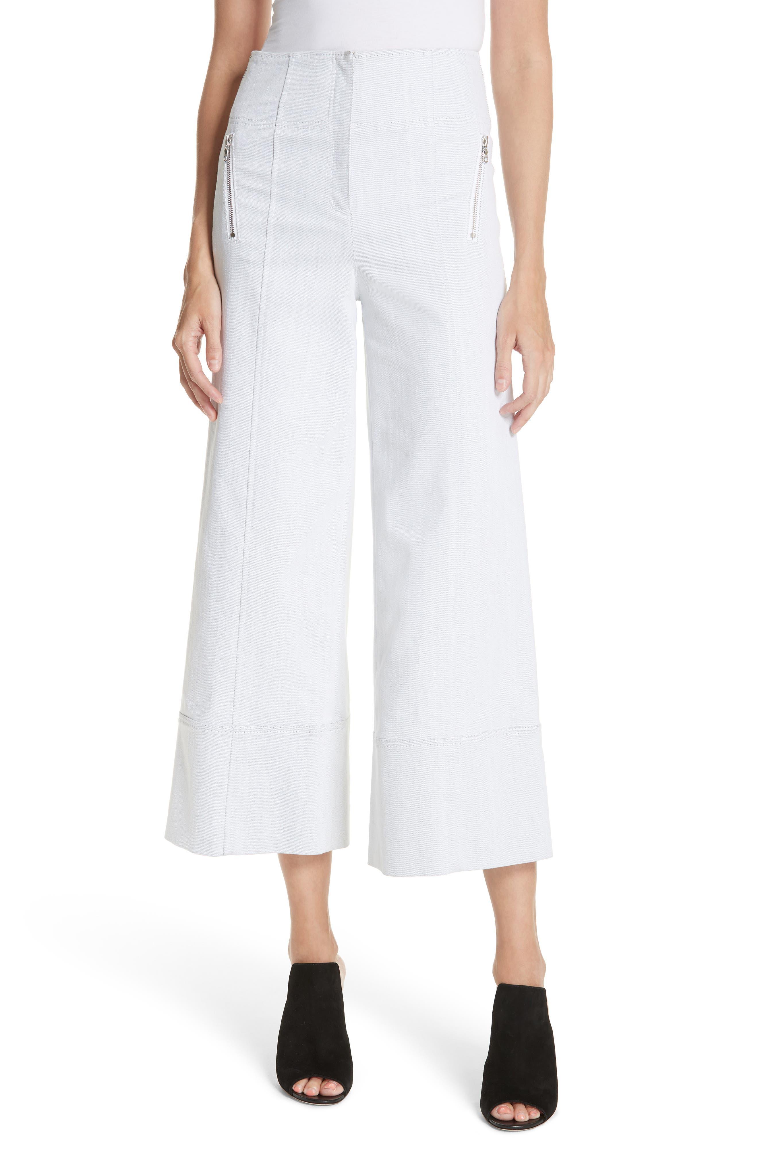 Marla Wide Leg Pants,                         Main,                         color, 100