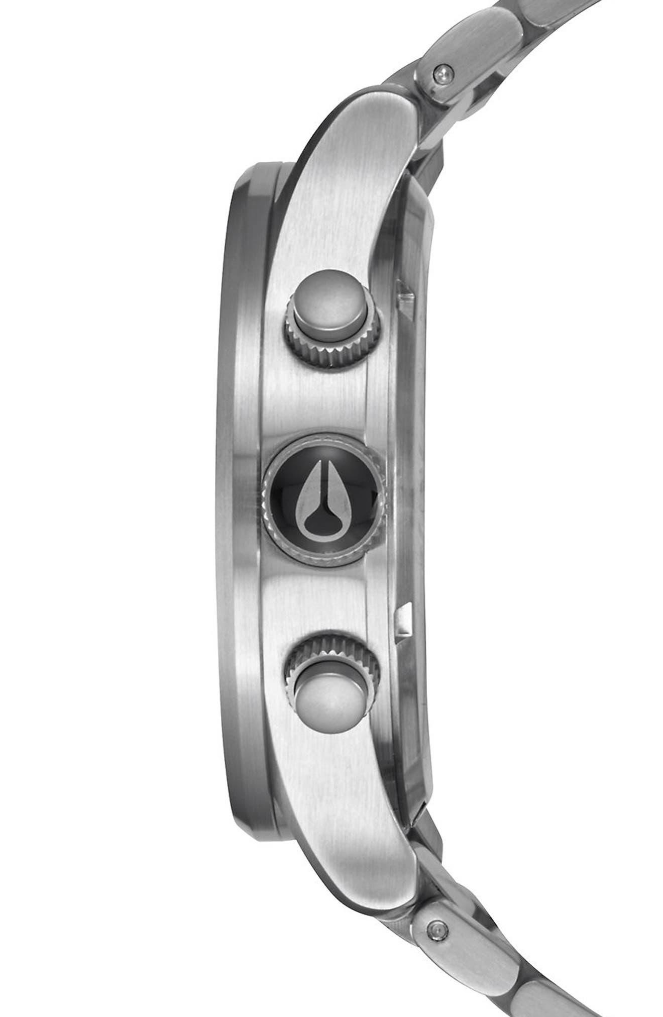 'The Sentry' Chronograph Bracelet Watch, 42mm,                             Alternate thumbnail 23, color,