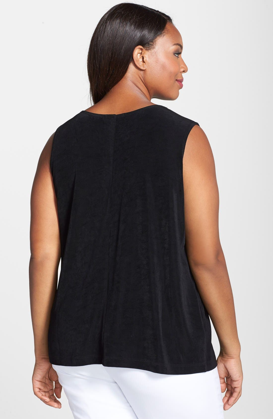 Tank Top,                             Alternate thumbnail 7, color,                             BLACK