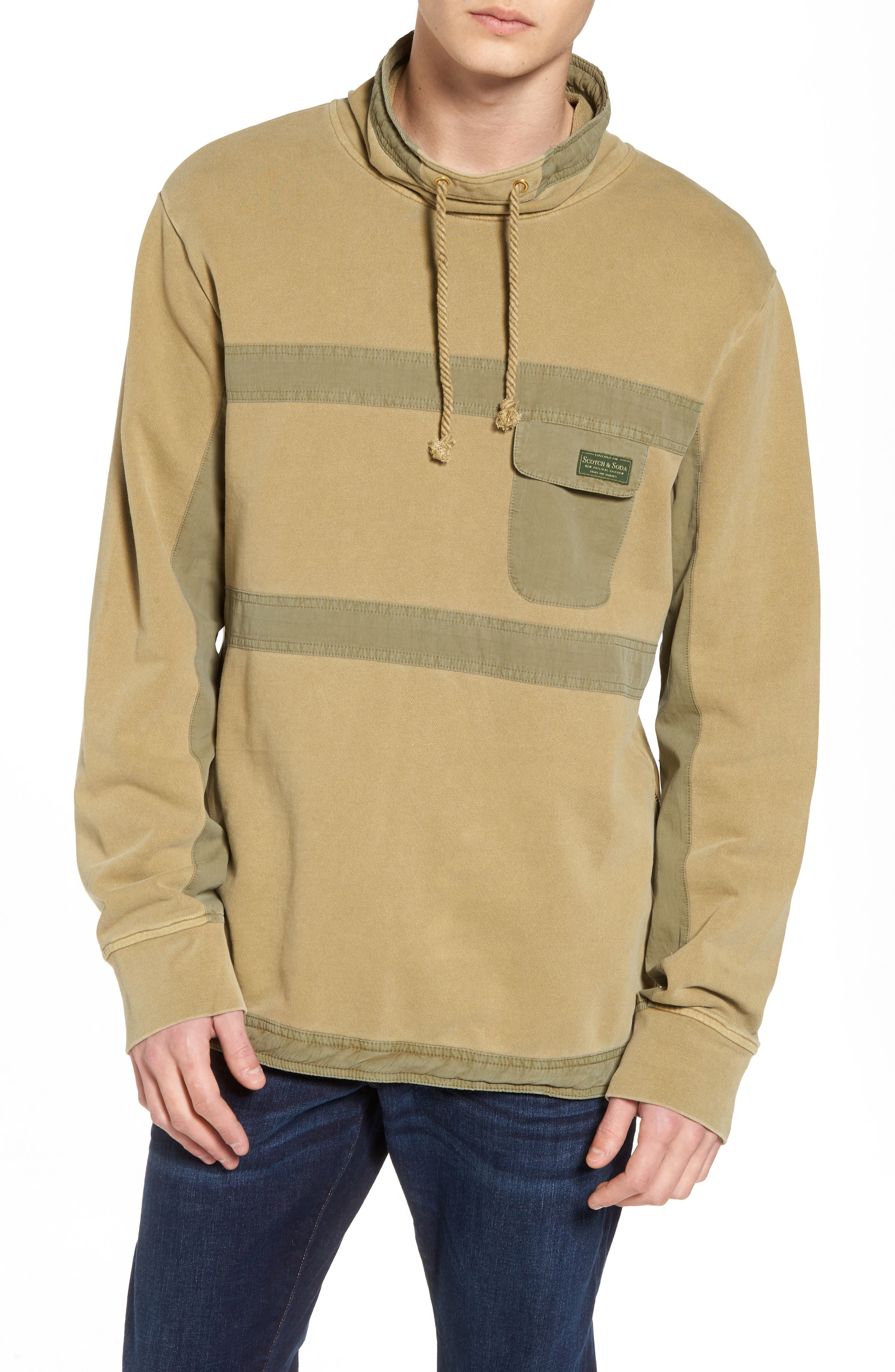 Garment Dyed Sweatshirt,                         Main,                         color, 700