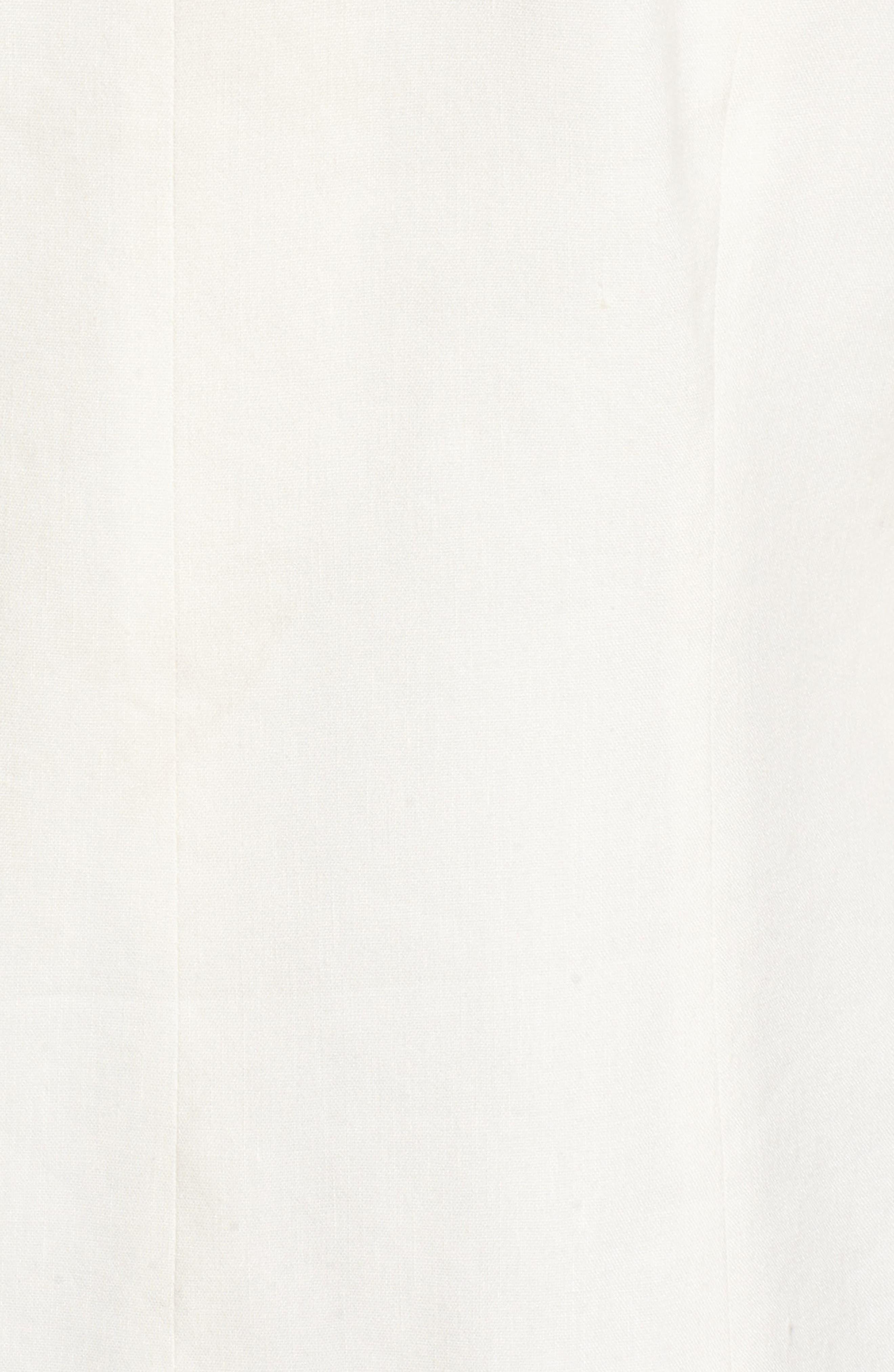 Double Breasted Linen Blend Blazer,                             Alternate thumbnail 31, color,
