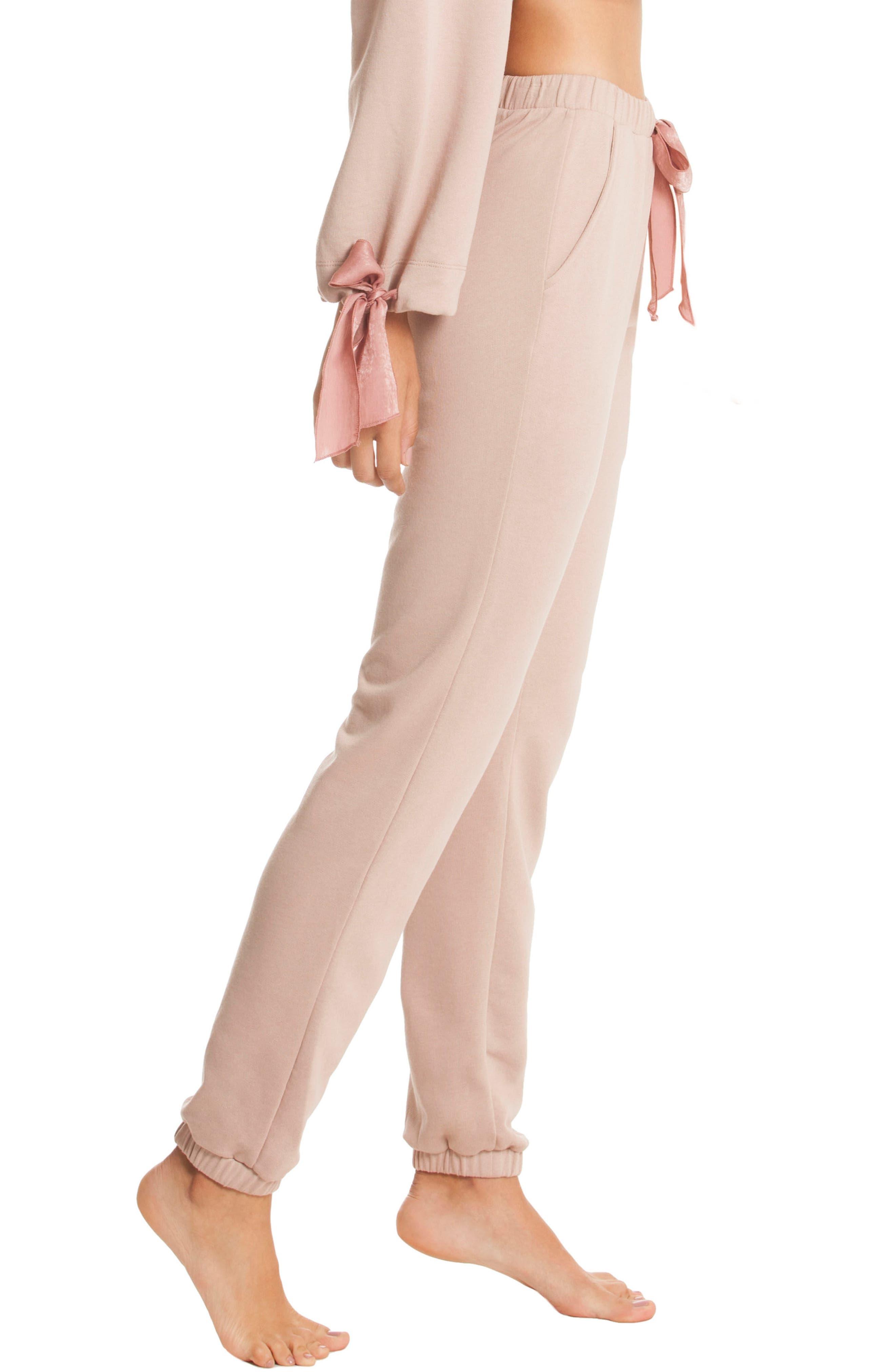 Fleece Lounge Pants,                             Alternate thumbnail 3, color,                             250
