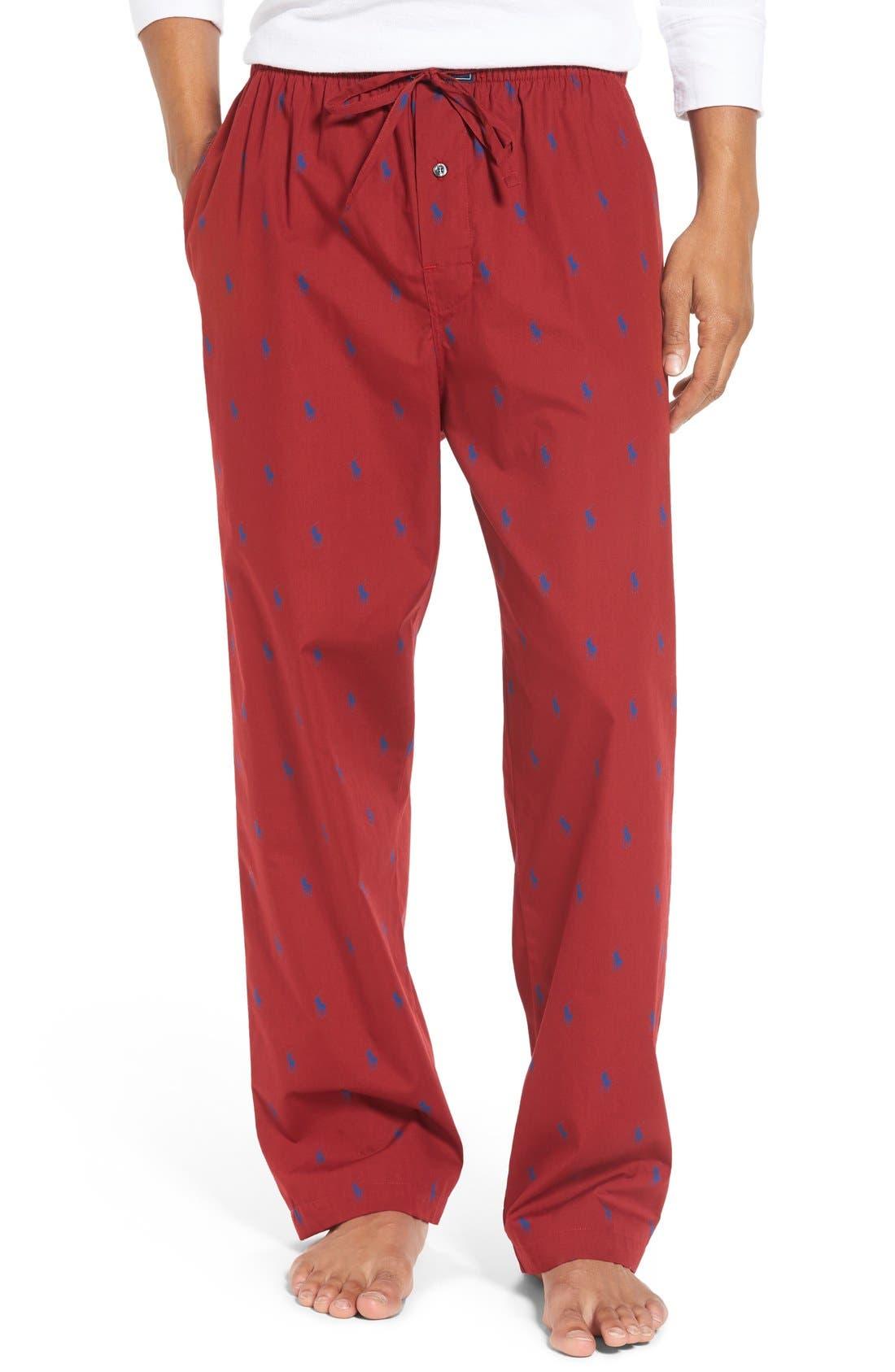 Cotton Lounge Pants,                             Main thumbnail 10, color,