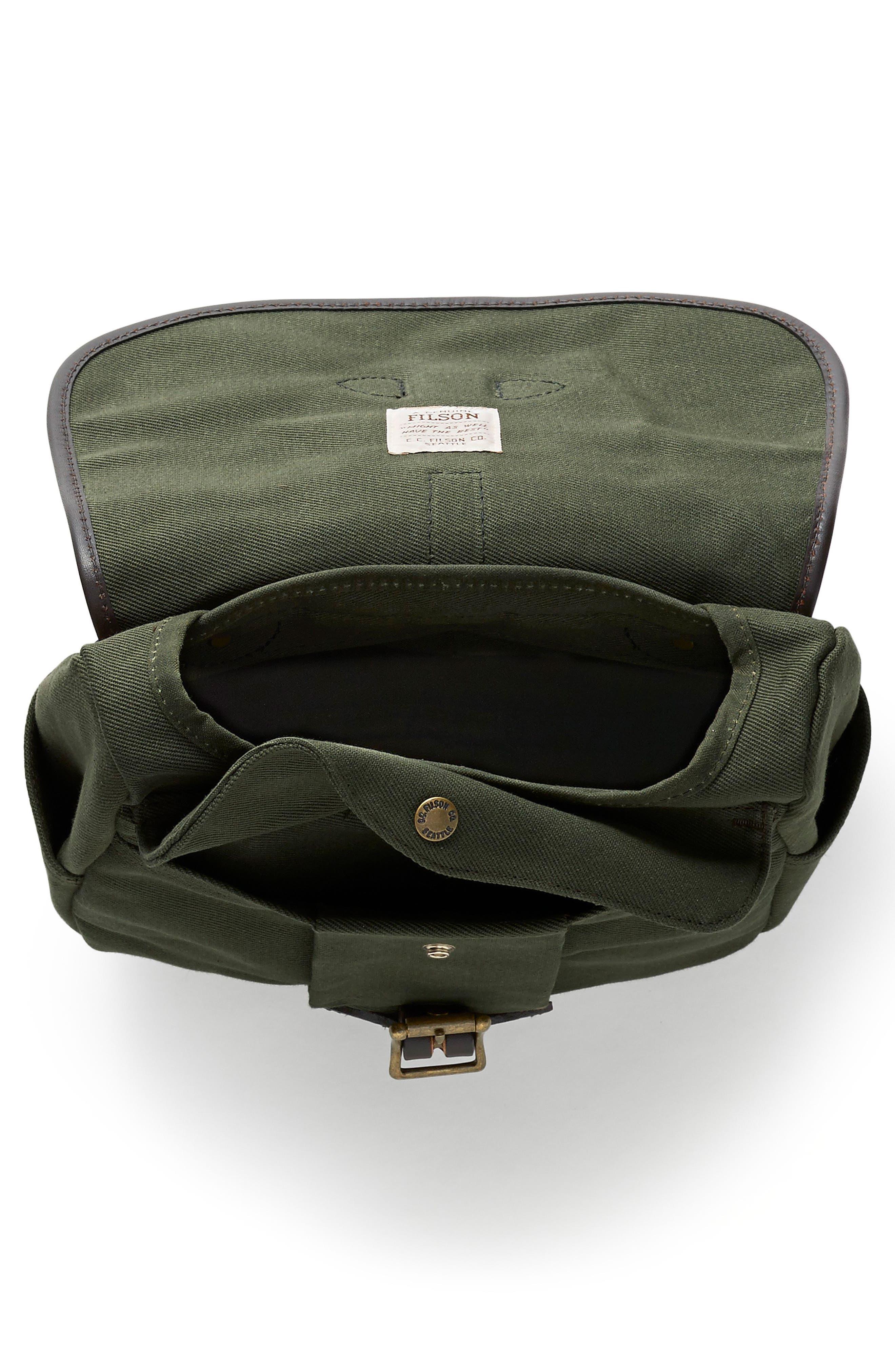 Small Field Bag,                             Alternate thumbnail 3, color,                             OTTER GREEN