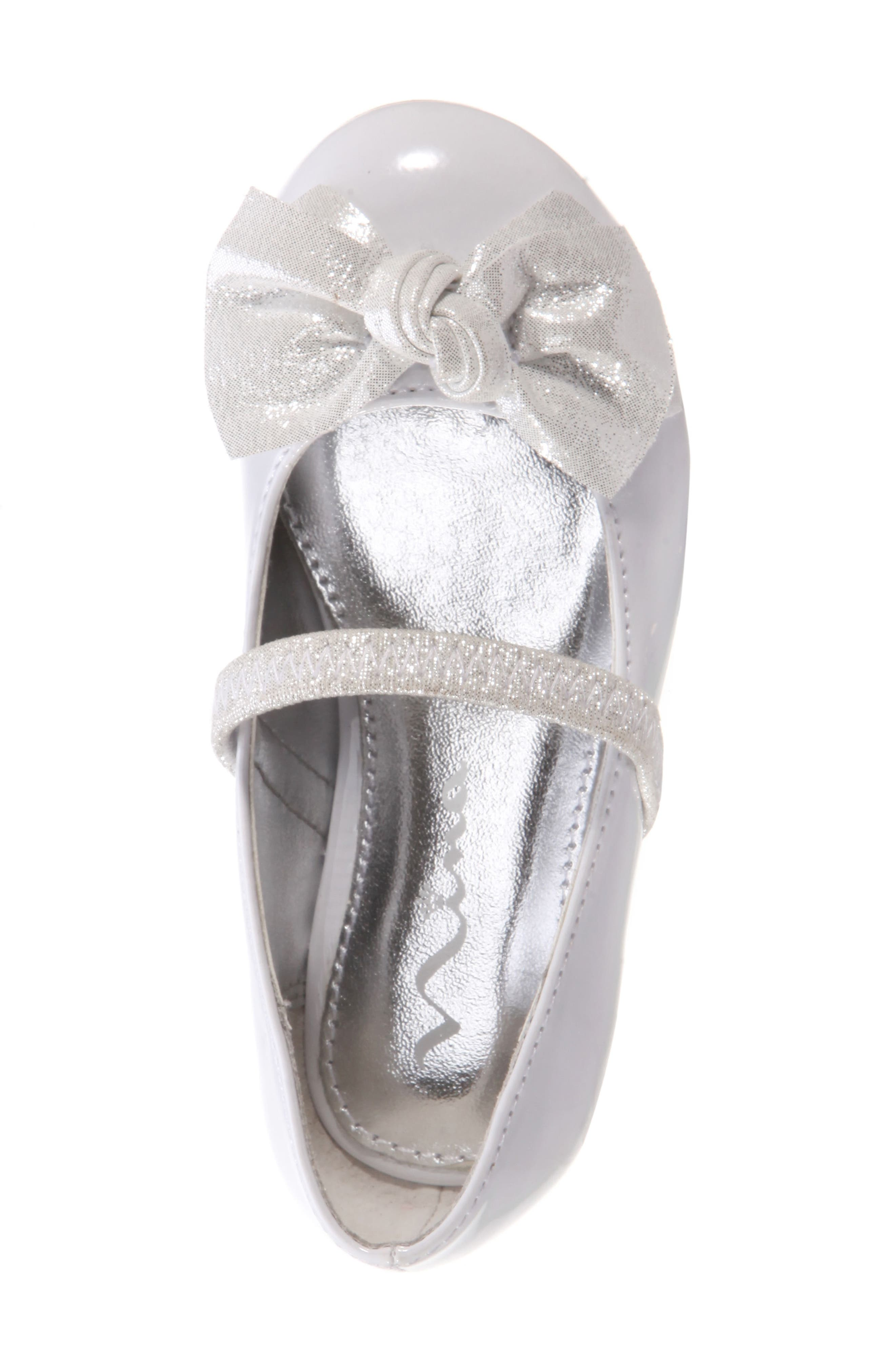 Kaytelyn-T Glitter Bow Ballet Flat,                             Alternate thumbnail 30, color,