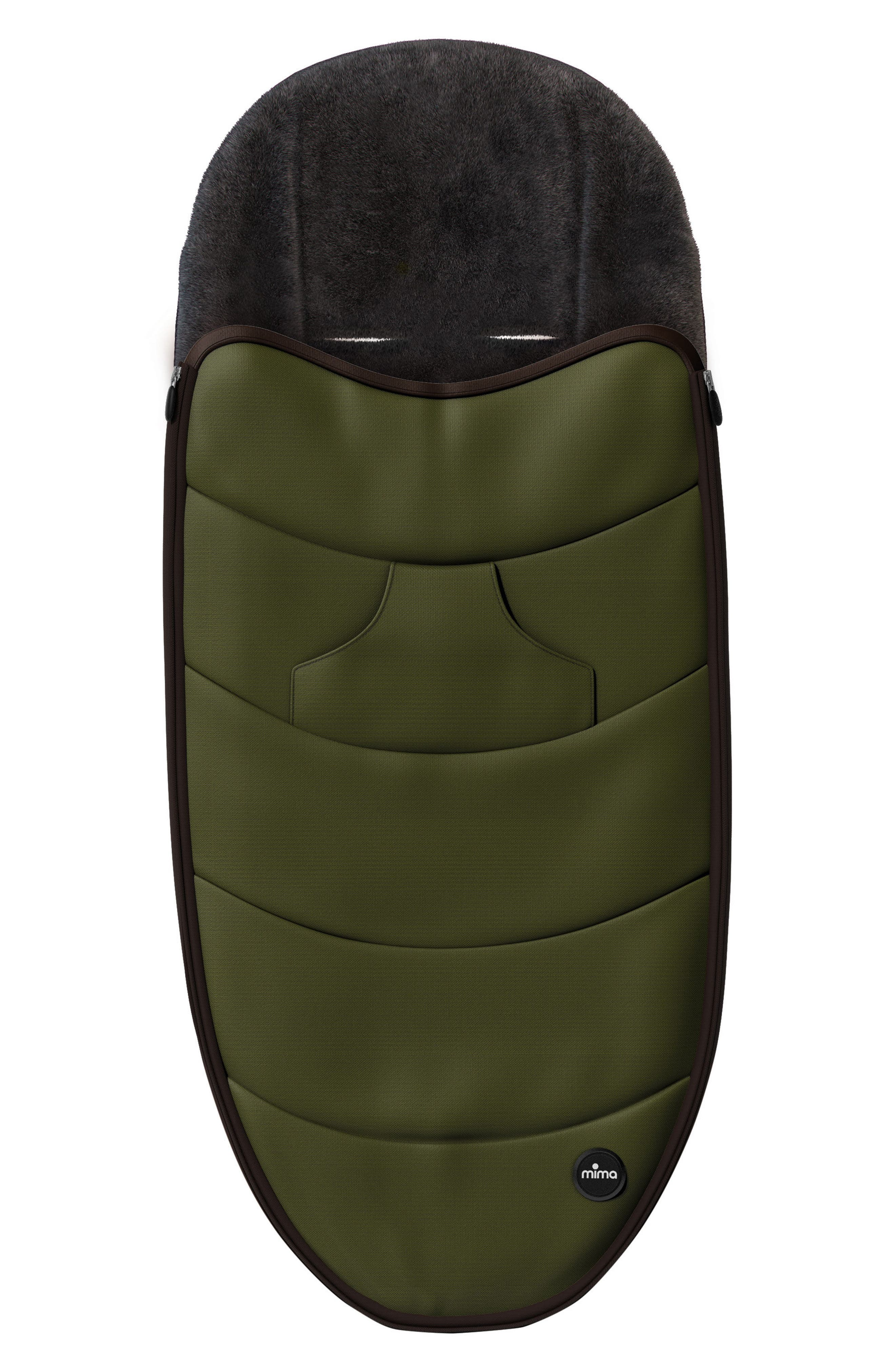 Footmuff for Zigi Strollers,                         Main,                         color, OLIVE GREEN