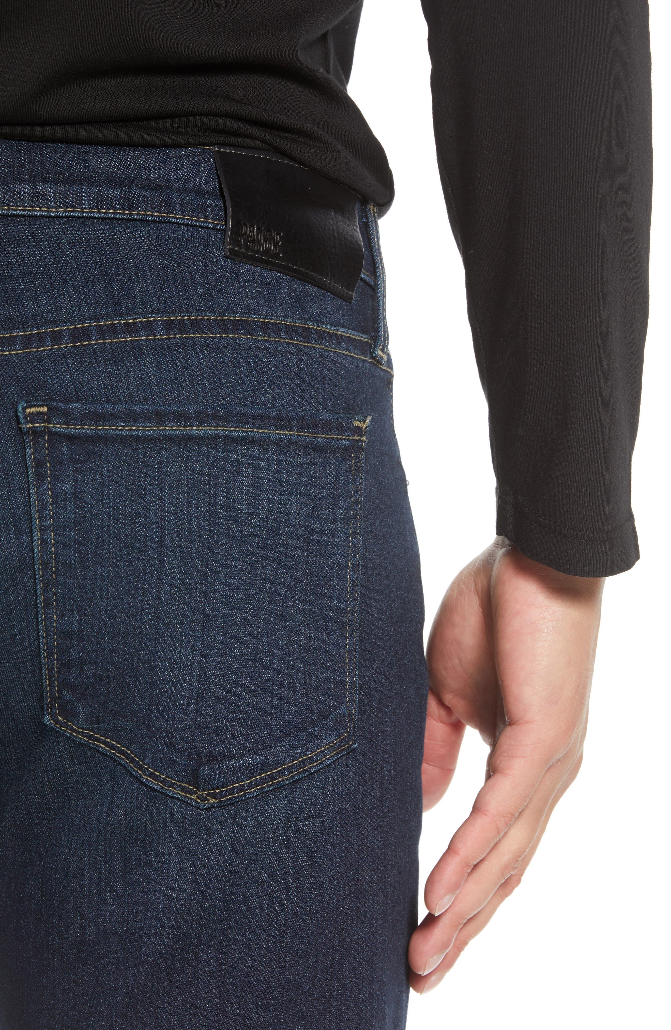 Transcend – Lennox Slim Fit Jeans,                             Alternate thumbnail 4, color,                             HALE