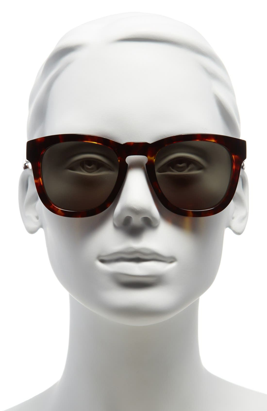 'Classic Fox' 50mm Retro Sunglasses,                             Alternate thumbnail 22, color,