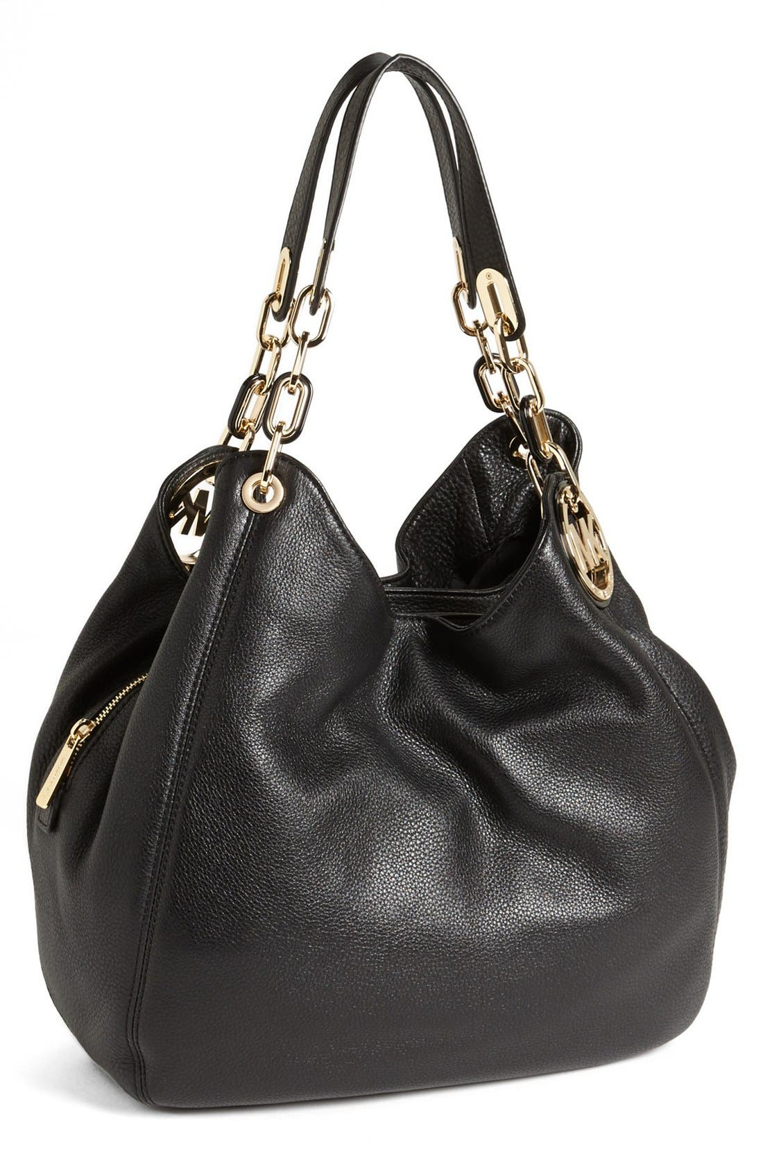 MICHAEL MICHAEL KORS 'Fulton - Large' Tote, Main, color, 001