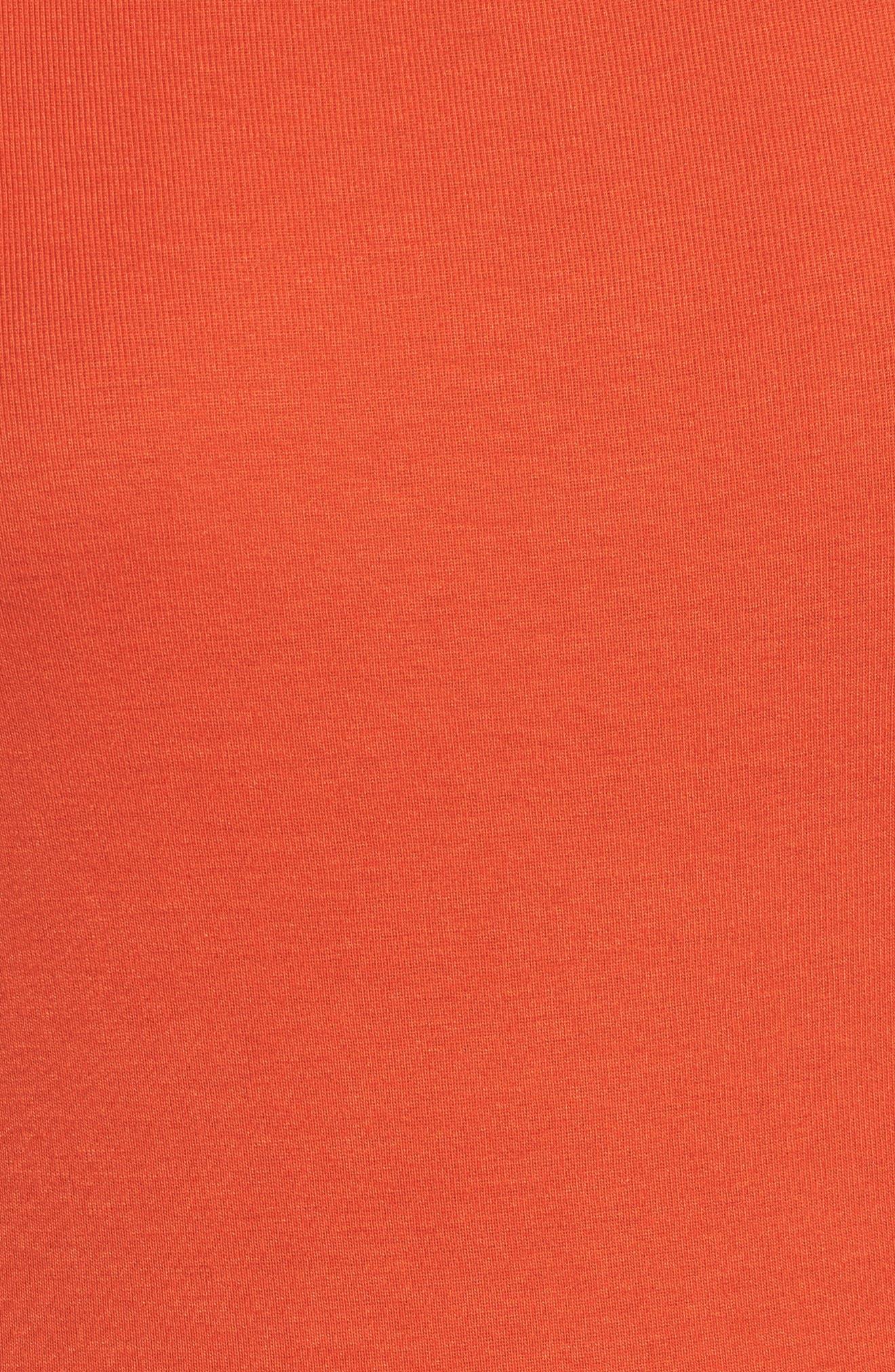 Three Quarter Sleeve Tee,                             Alternate thumbnail 96, color,