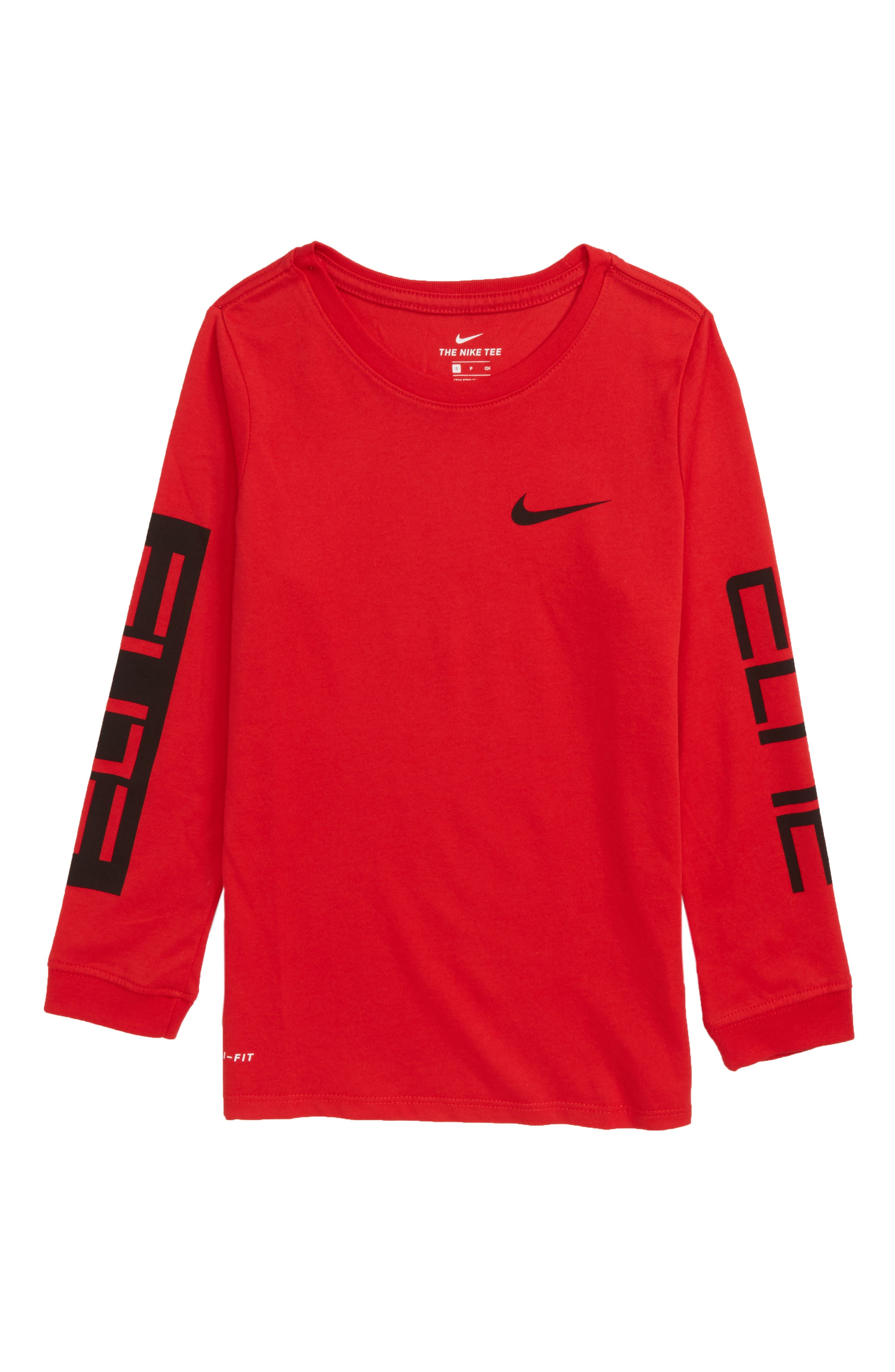 Dry Elite Long Sleeve T-Shirt,                             Main thumbnail 4, color,