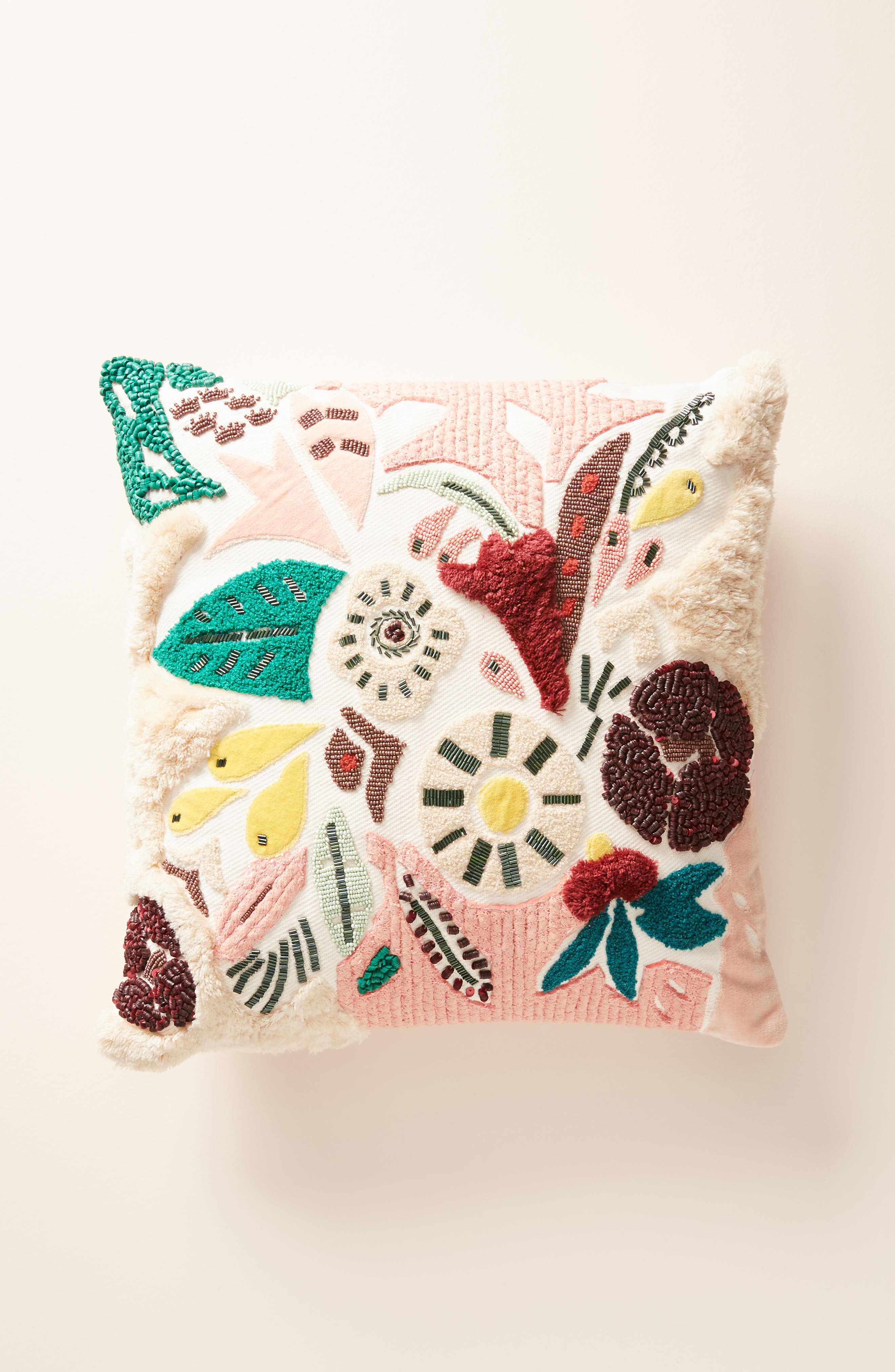 ANTHROPOLOGIE Cleo Accent Pillow, Main, color, 650