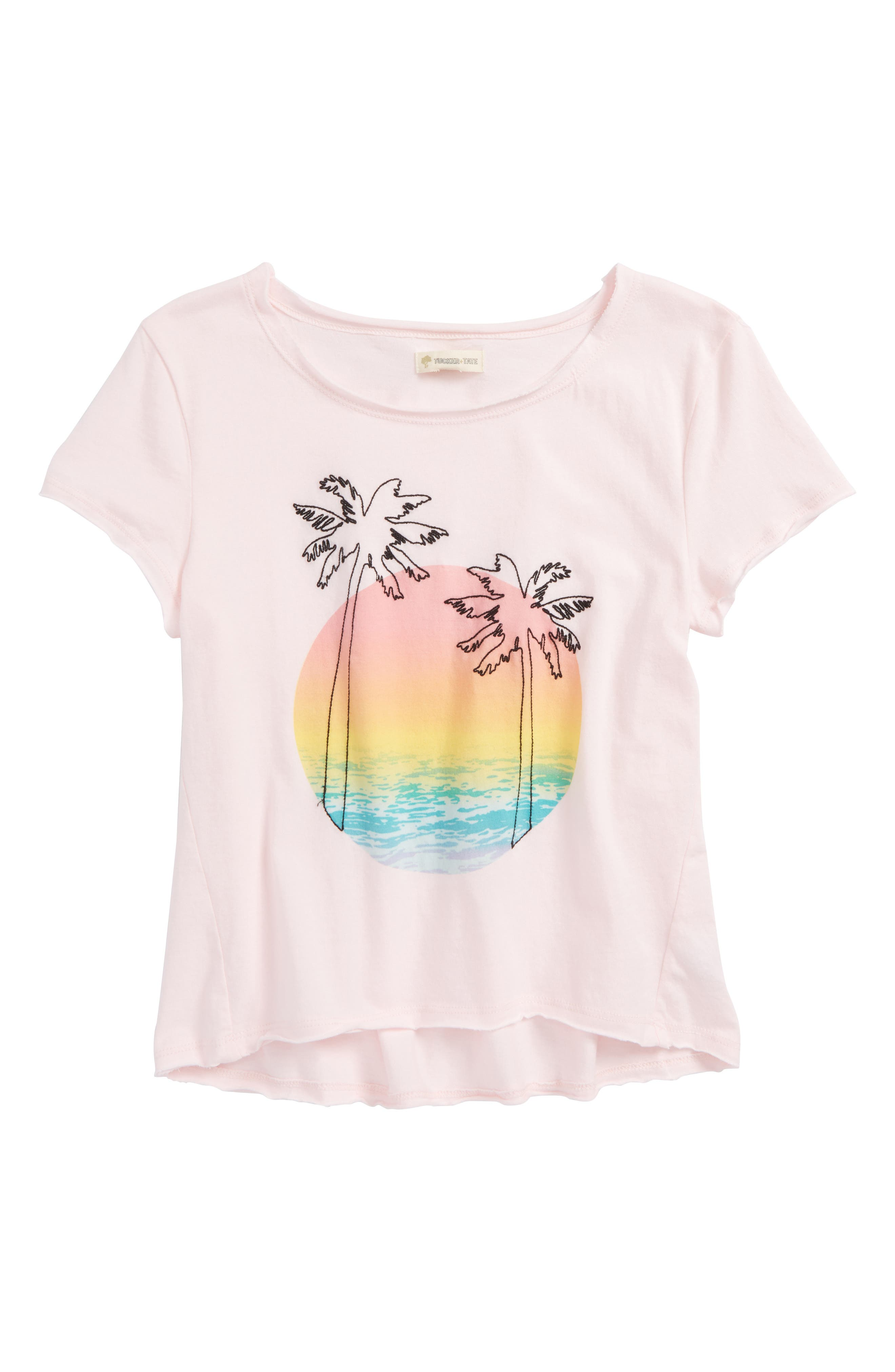 Tucker+Tate Embroidered Tee,                             Main thumbnail 2, color,
