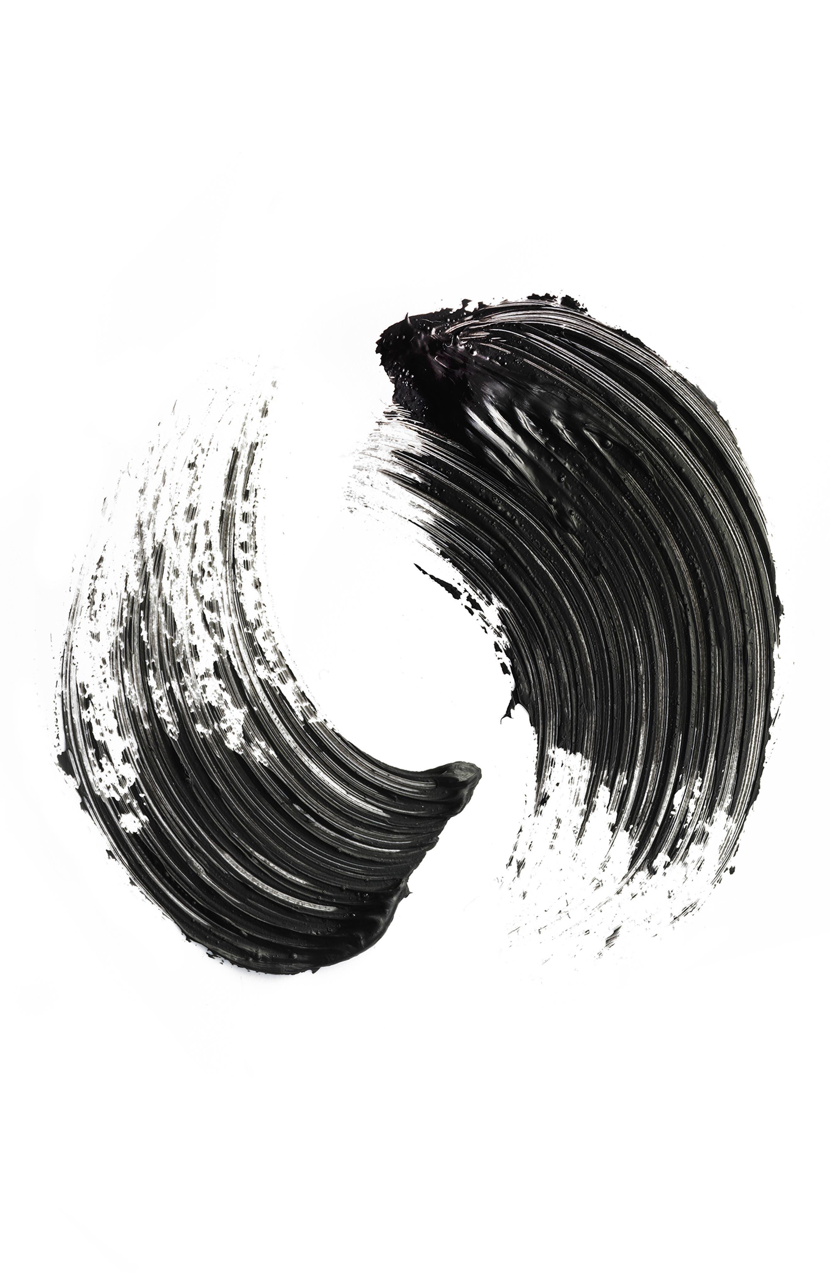 MAC Haute & Naughty - Too Black Lash Mascara,                             Alternate thumbnail 3, color,                             BLACK