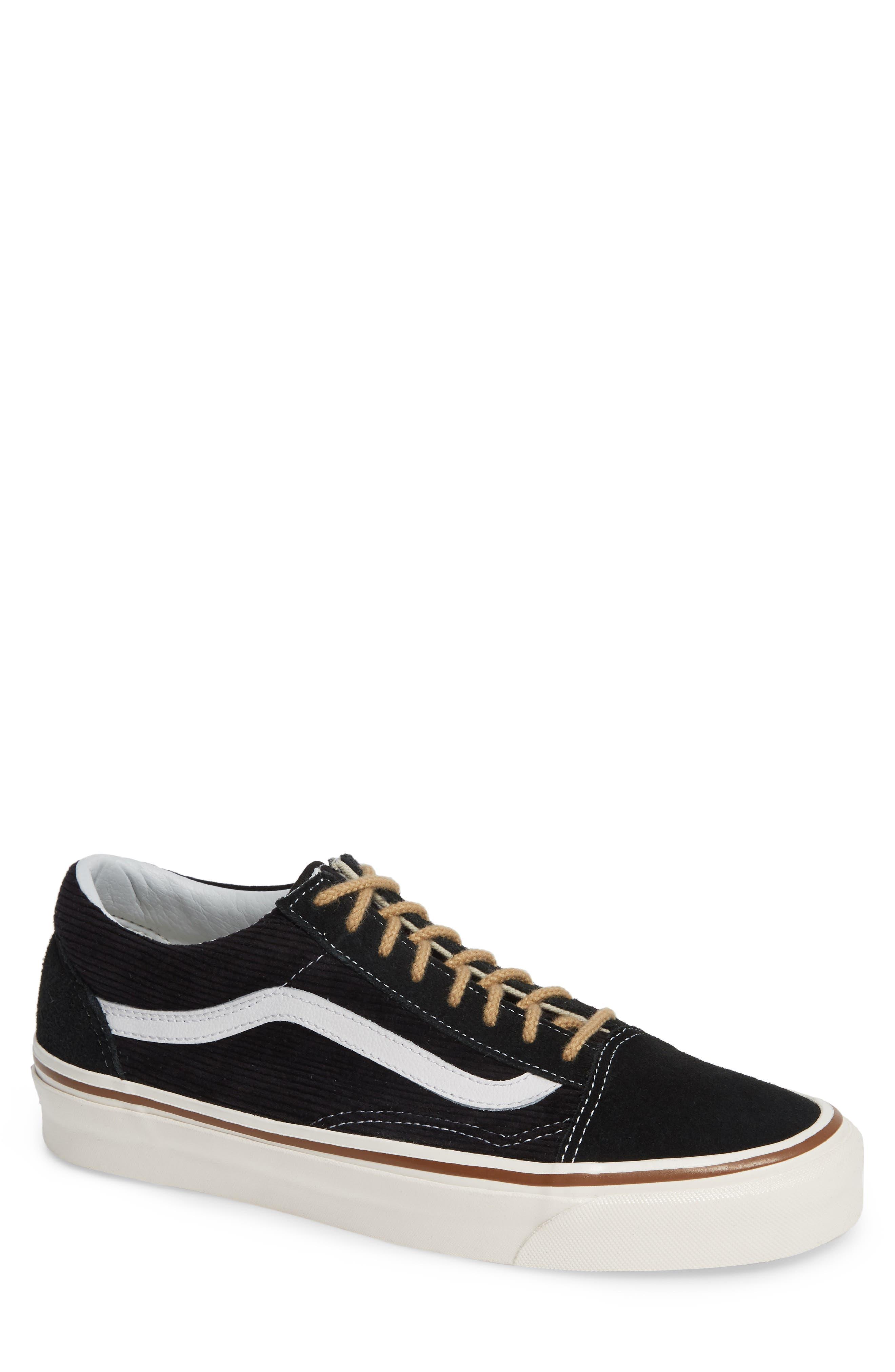 Vans Anaheim Factory Old Skool 36 Dx Sneaker In Black Suede
