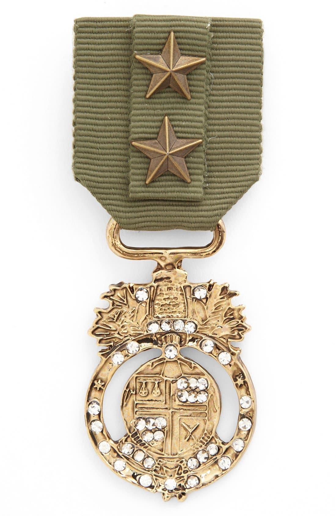 CARA 'Badge of Honor' Pin, Main, color, 300