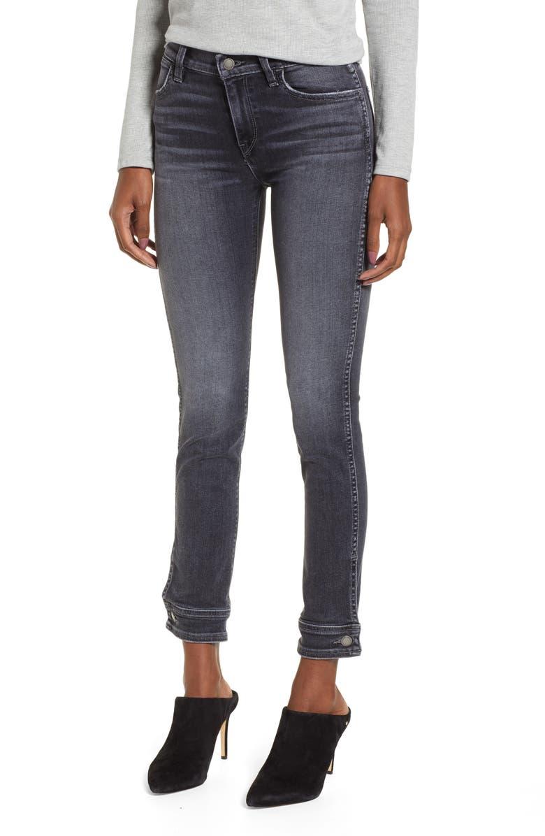 Nico Button Cuff Crop Cigarette Jeans