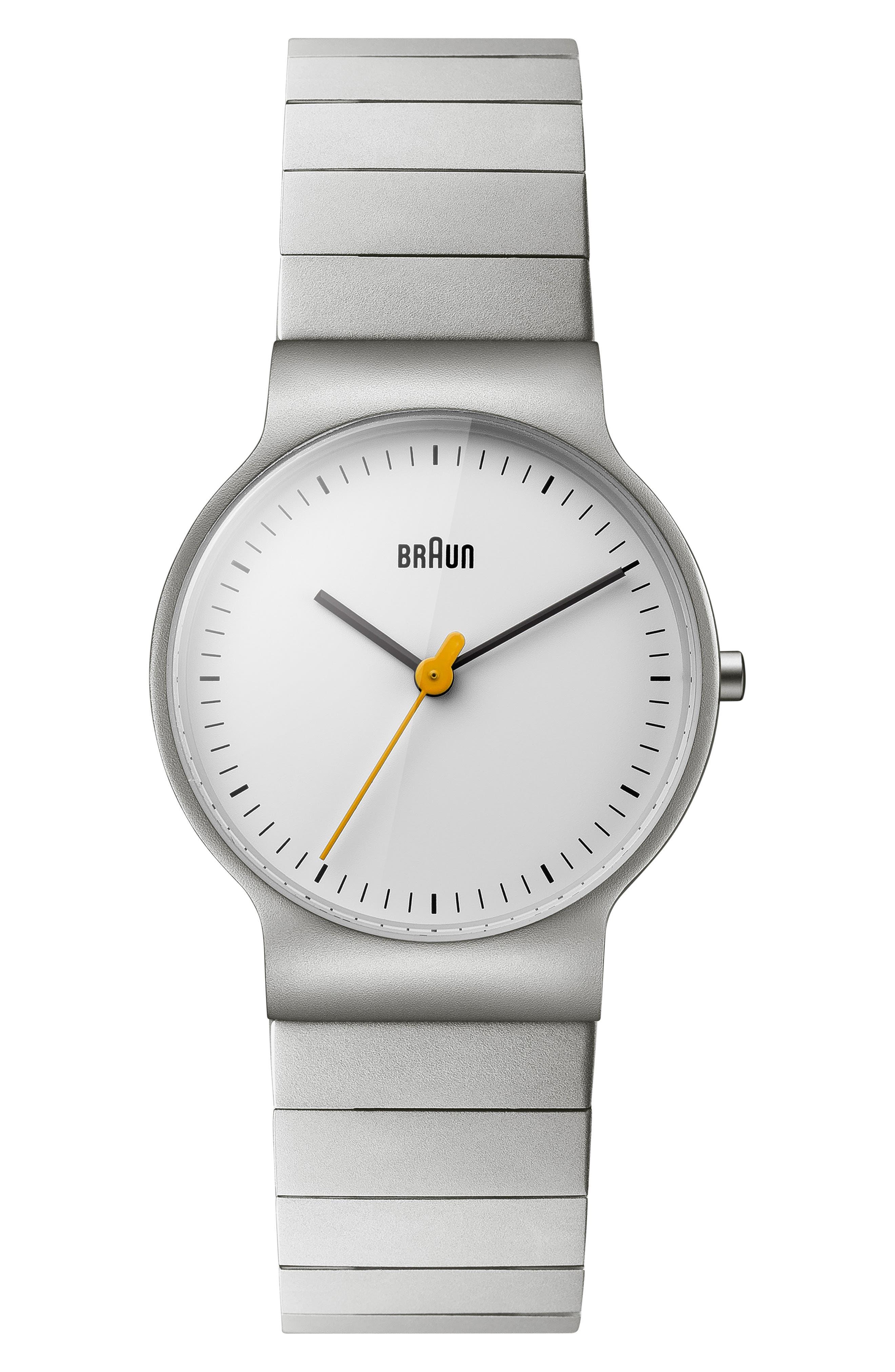 BRAUN Classic Bracelet Watch, 32Mm in Silver