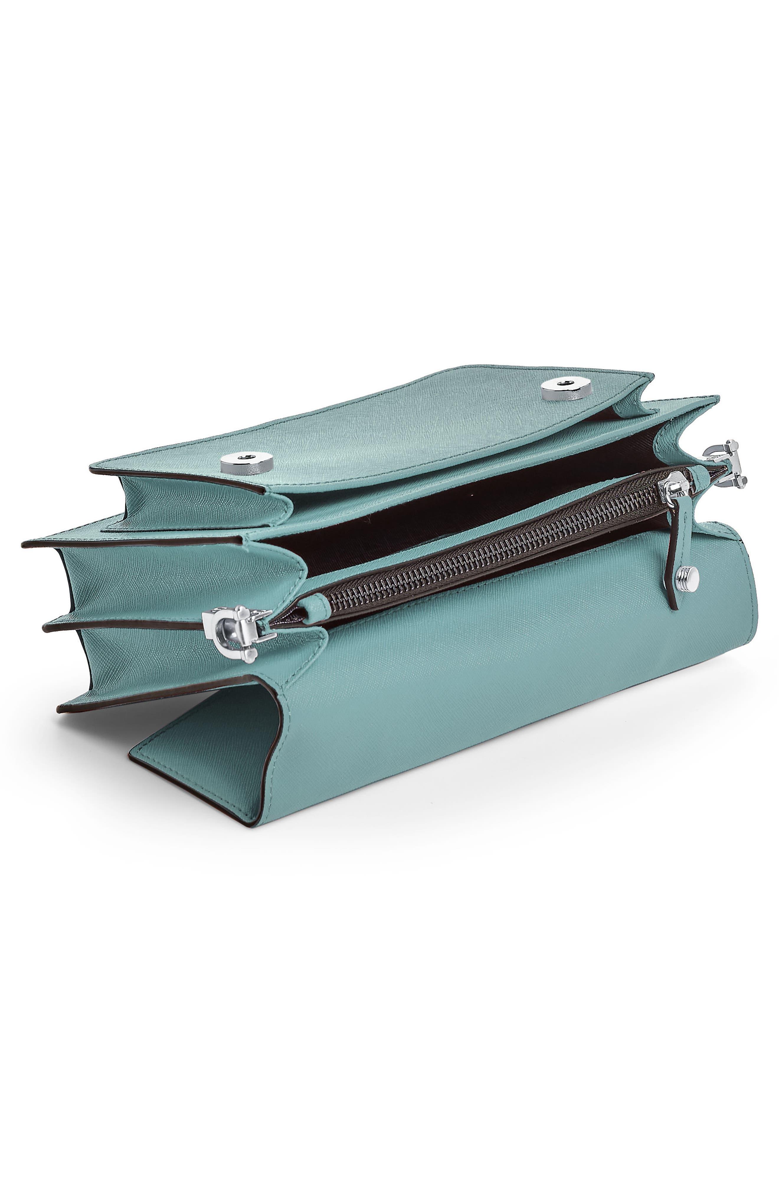 Cobble Hill Leather Crossbody Bag,                             Alternate thumbnail 122, color,