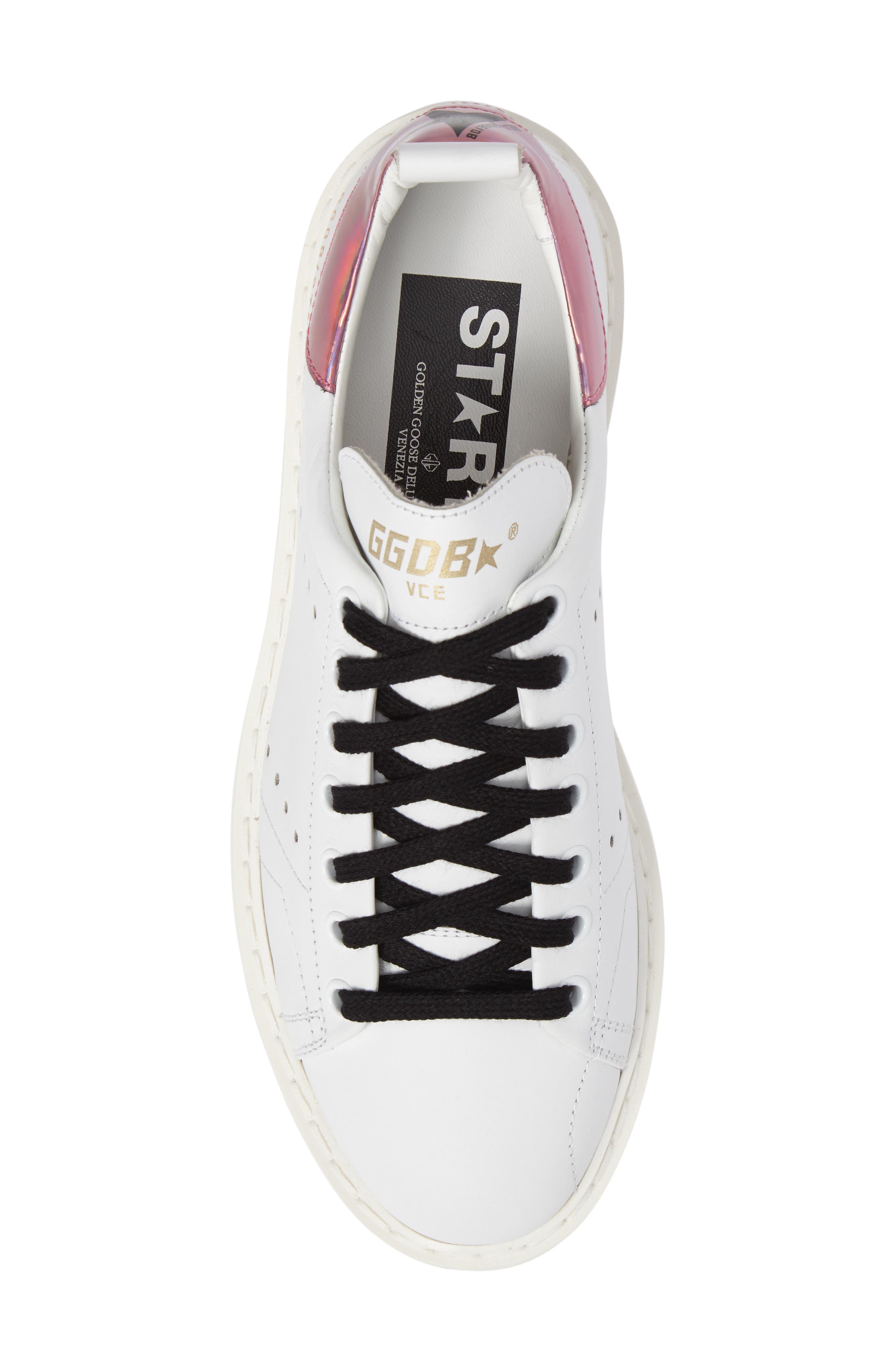Starter Low Top Sneaker,                             Alternate thumbnail 5, color,                             100