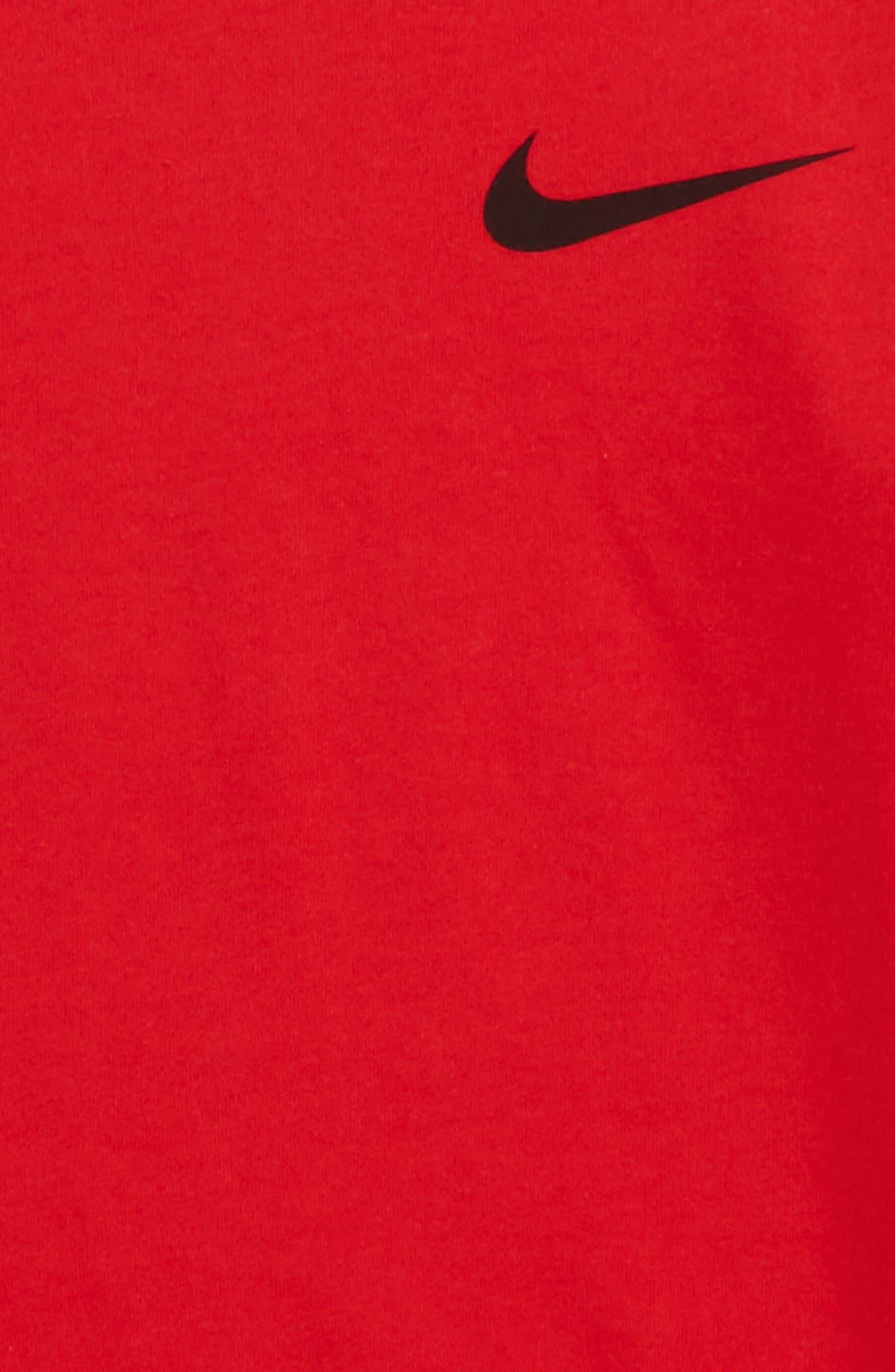 Dry Elite Long Sleeve T-Shirt,                             Alternate thumbnail 8, color,
