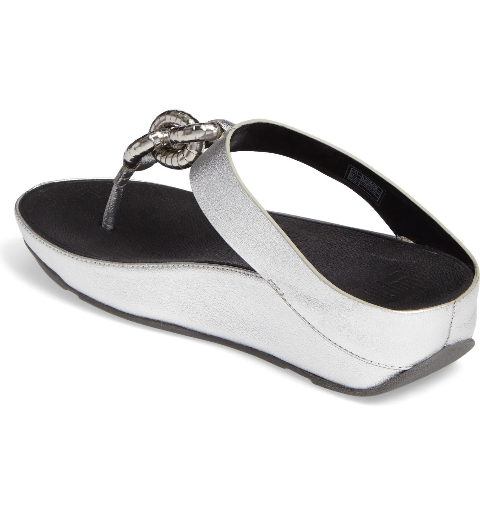 4e4ec144afcd66 FitFlop™ Superchain Platform Thong Sandal (Women)