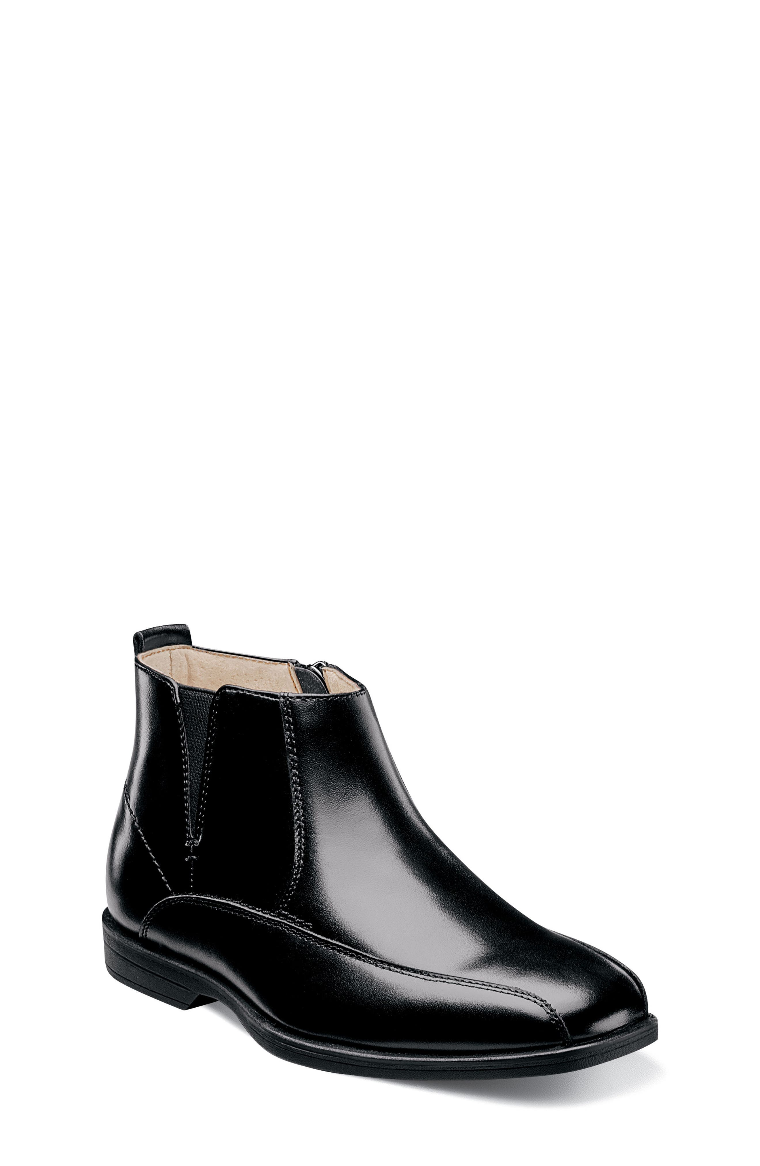 Reveal Chelsea Boot,                             Alternate thumbnail 2, color,                             BLACK