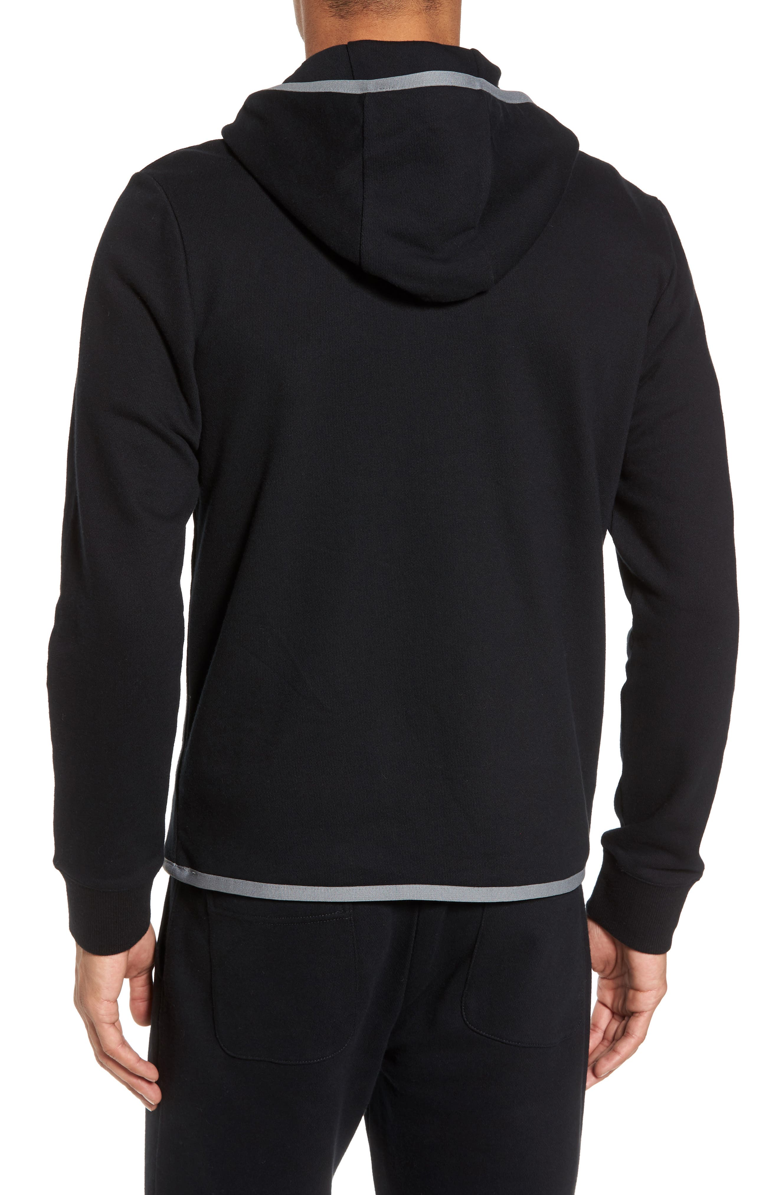French Terry Zip Hoodie,                             Alternate thumbnail 2, color,                             015