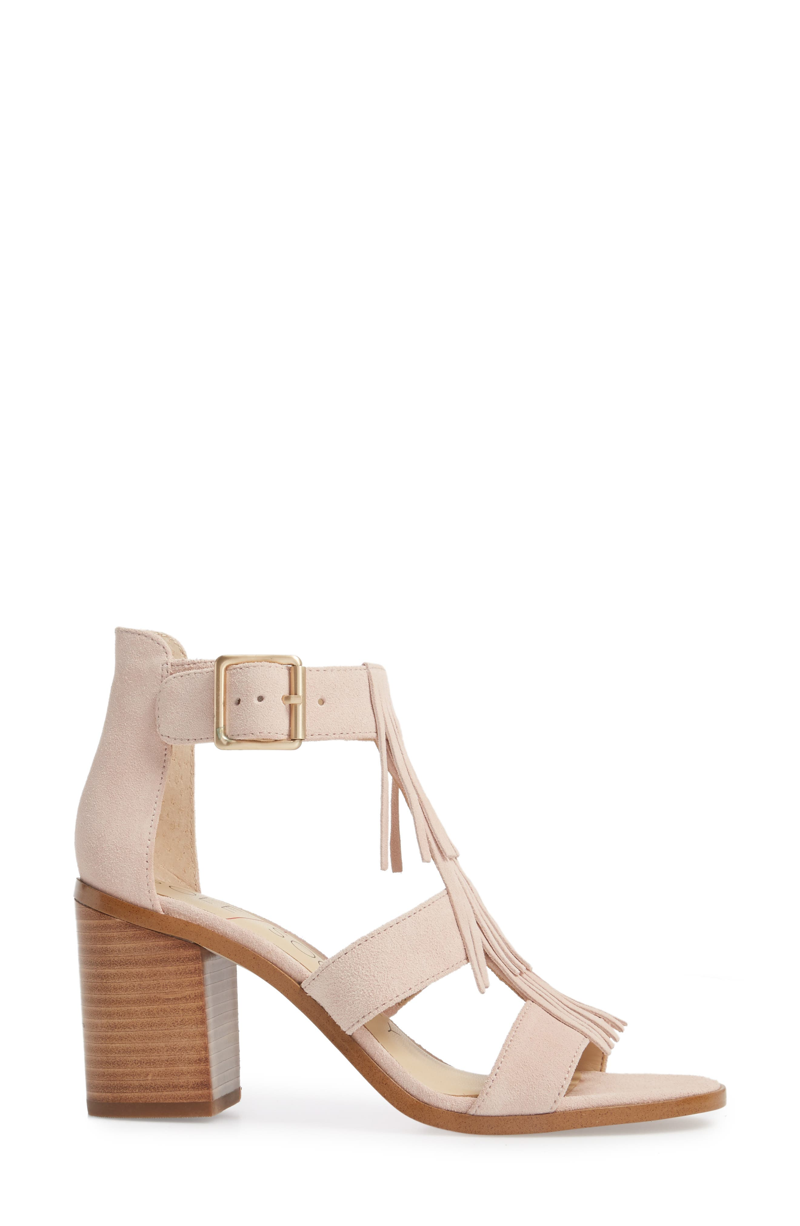 'Delilah' Fringe Sandal,                             Alternate thumbnail 19, color,