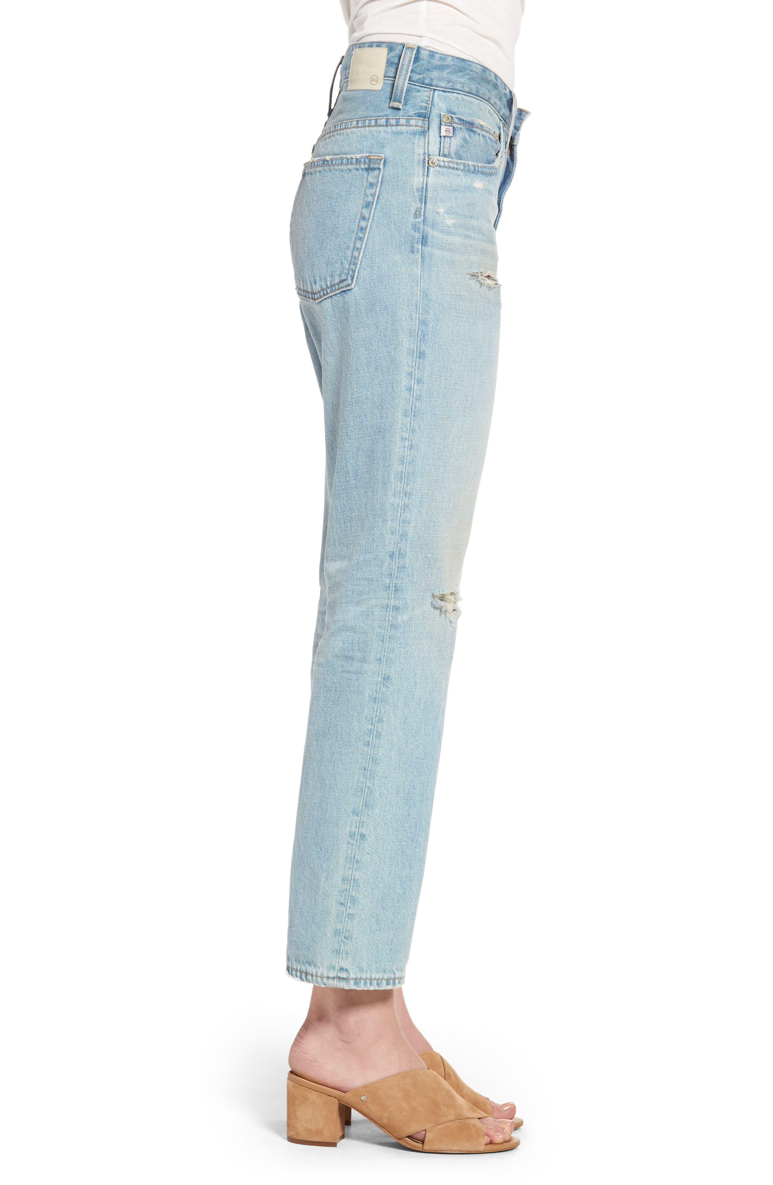 The Rhett Vintage High Waist Crop Jeans,                             Alternate thumbnail 9, color,