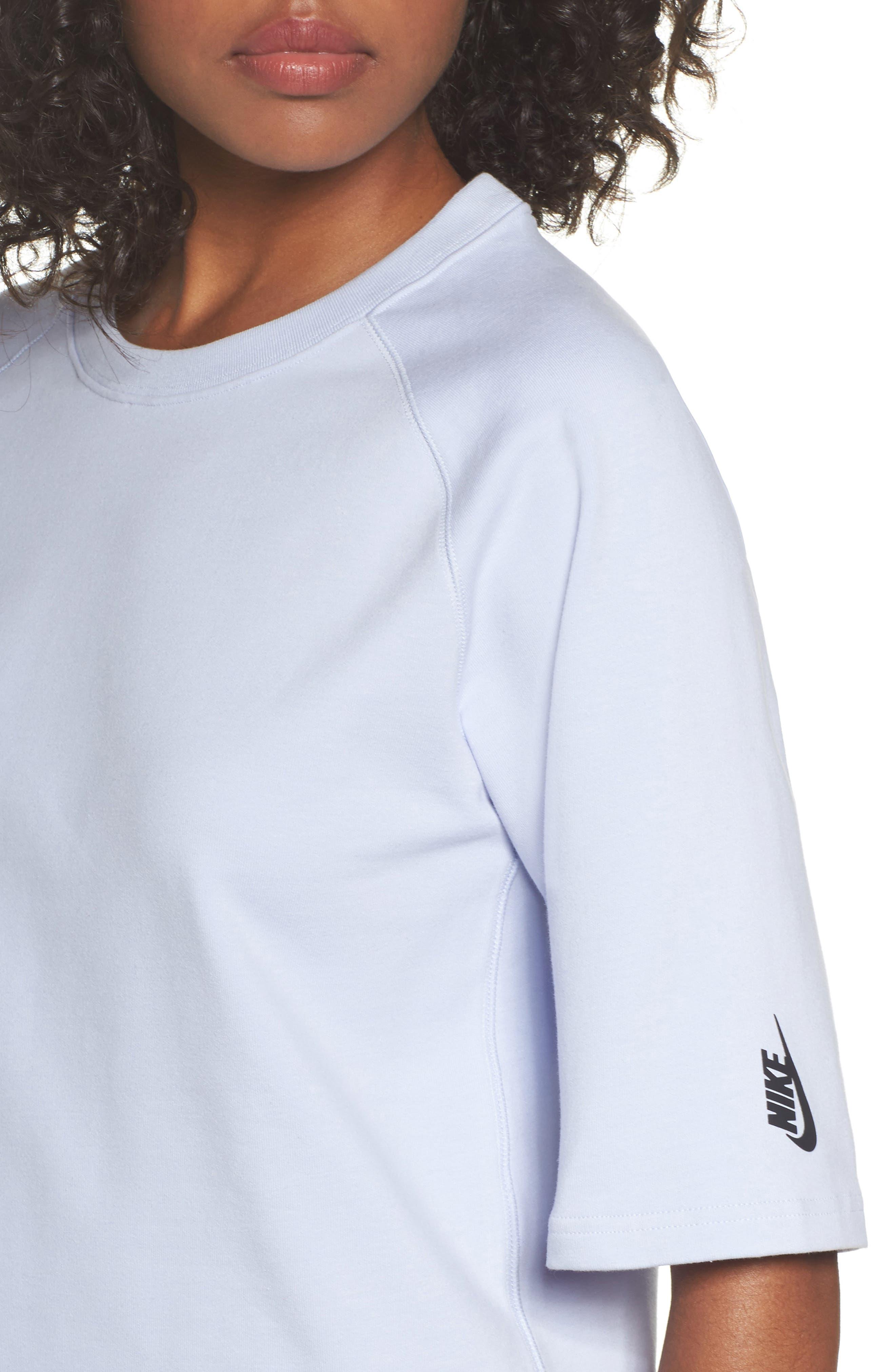 NikeLab Essential Fleece Top,                             Alternate thumbnail 15, color,