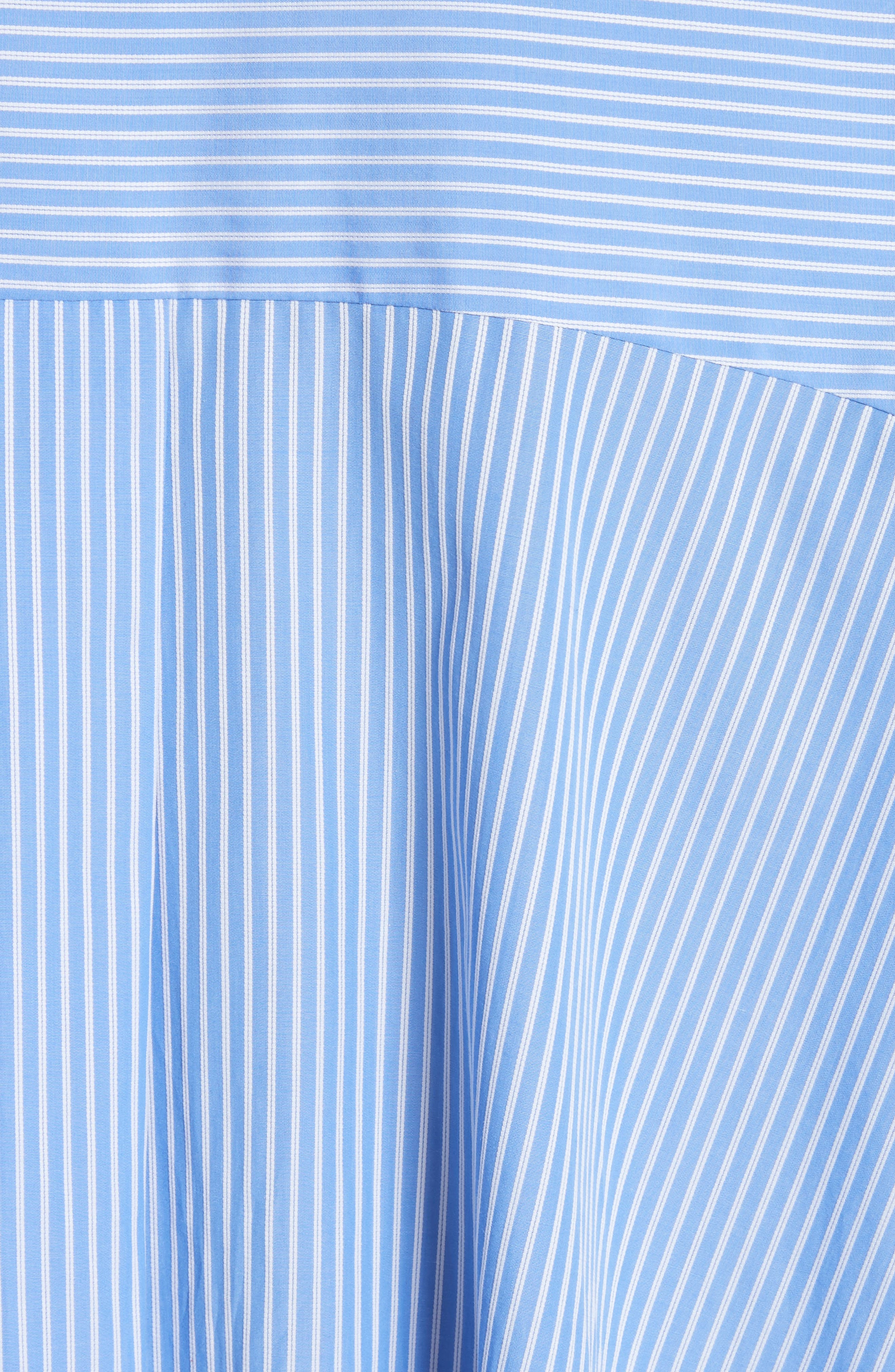 Stripe Puff Sleeve Shirt,                             Alternate thumbnail 5, color,                             400