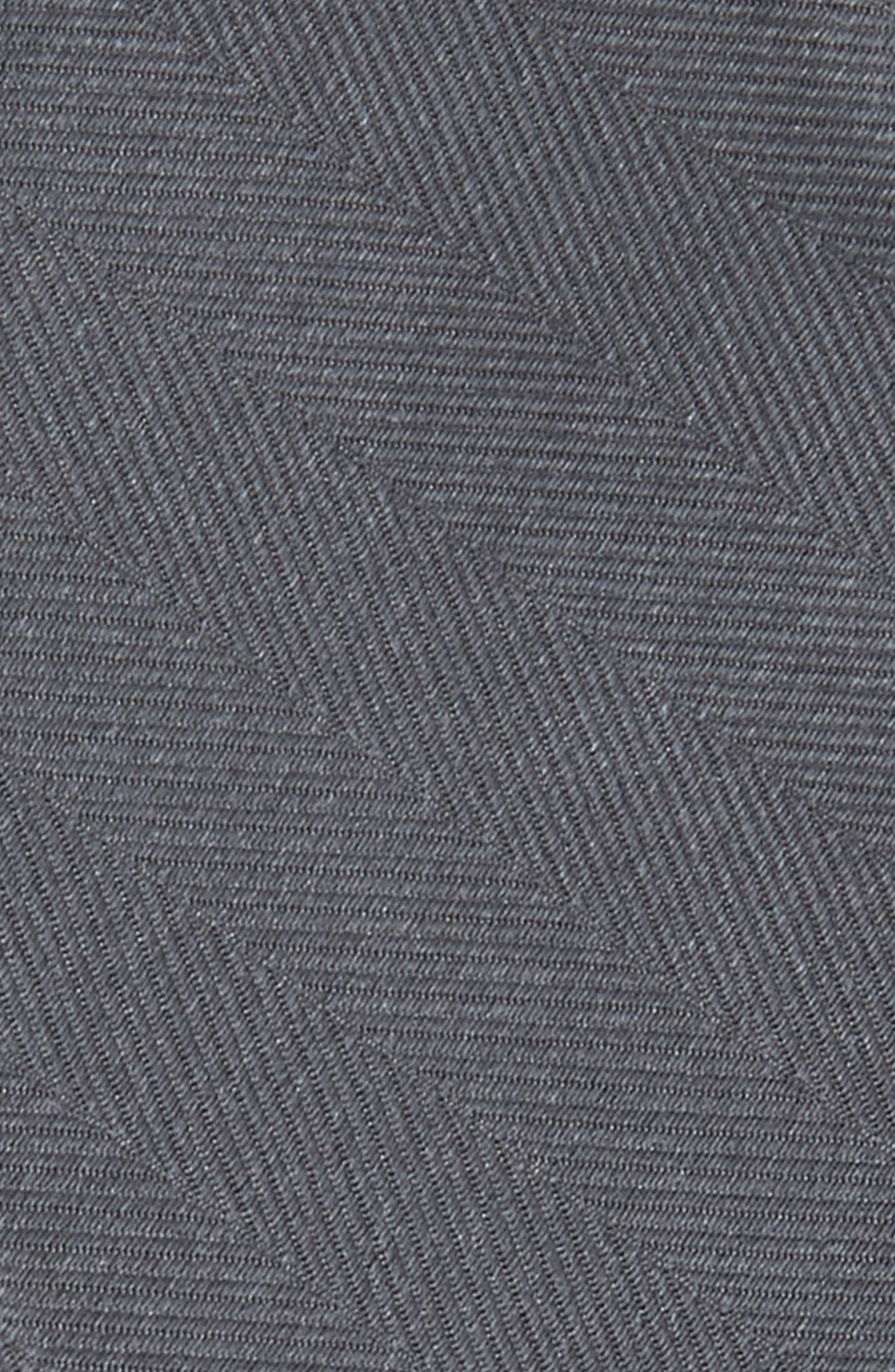 Herringbone Silk Bow Tie,                             Alternate thumbnail 3, color,                             020