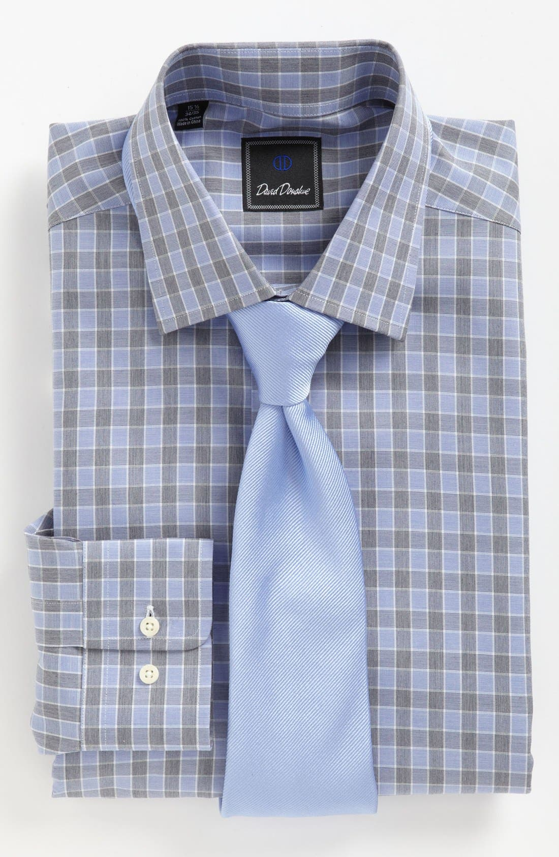 DAVID DONAHUE,                             Regular Fit Dress Shirt,                             Alternate thumbnail 2, color,                             423