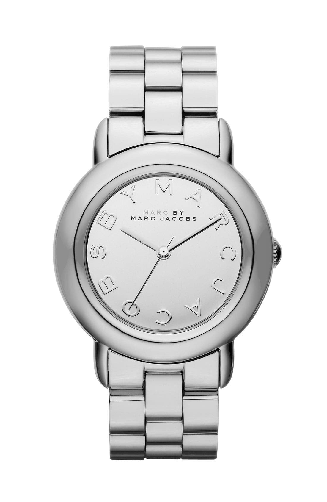 MARC BY MARC JACOBS 'Marci' Mirror Dial Watch,                             Main thumbnail 1, color,                             040