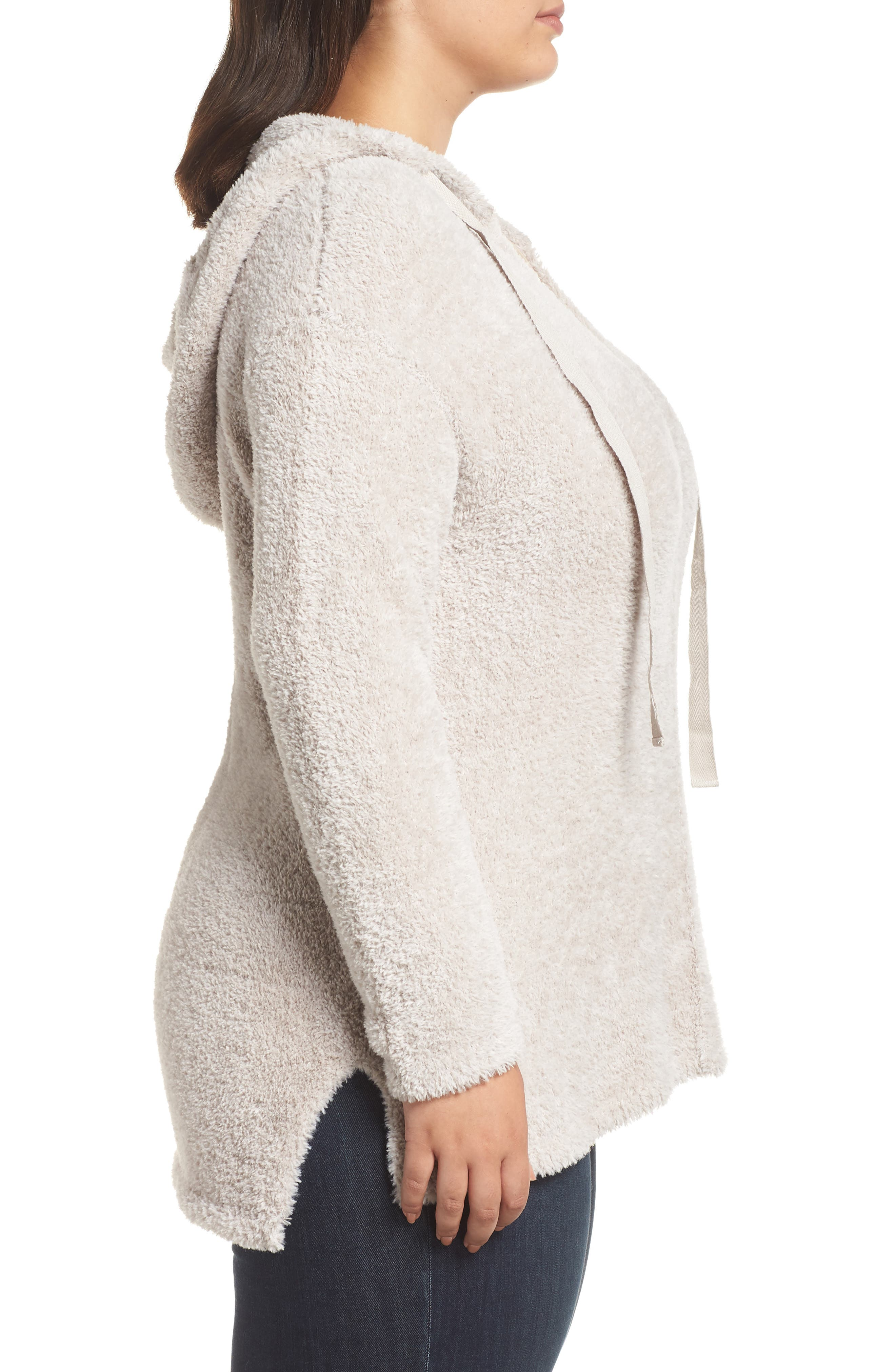 Off-Duty Sweater Hoodie,                             Alternate thumbnail 3, color,                             GREY VEIL