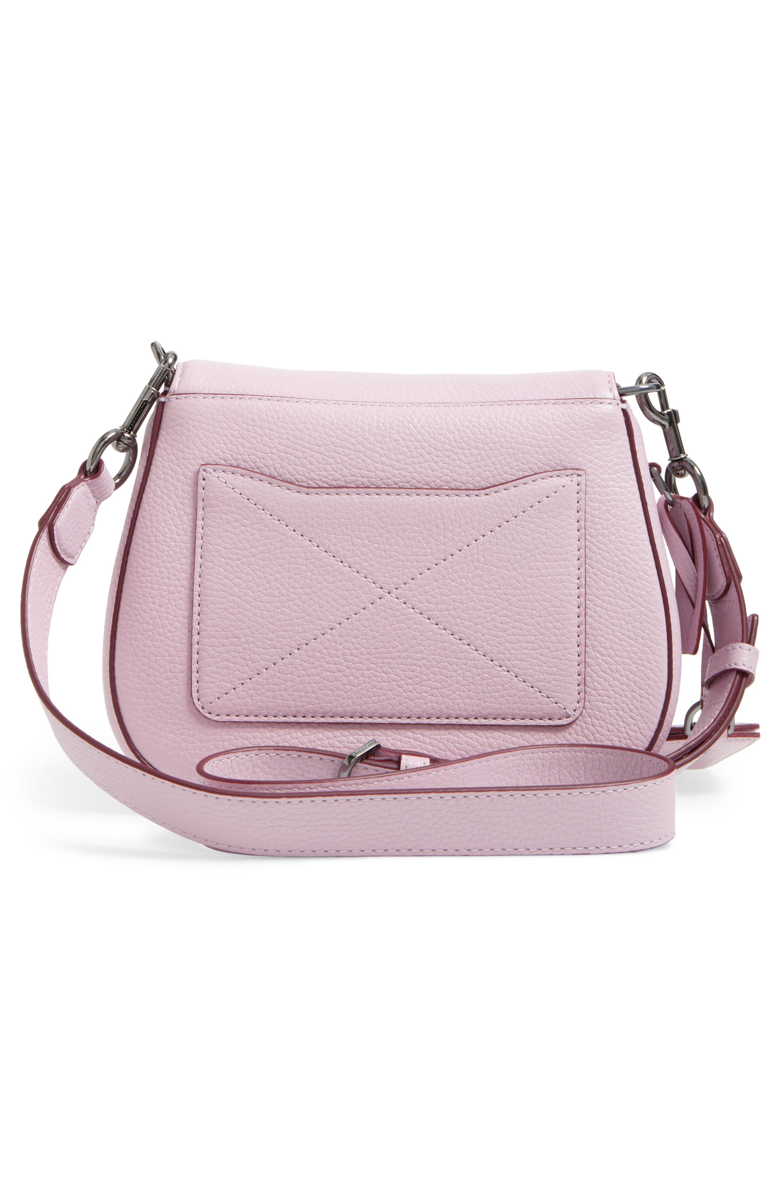 Small Recruit Nomad Pebbled Leather Crossbody Bag,                             Alternate thumbnail 39, color,