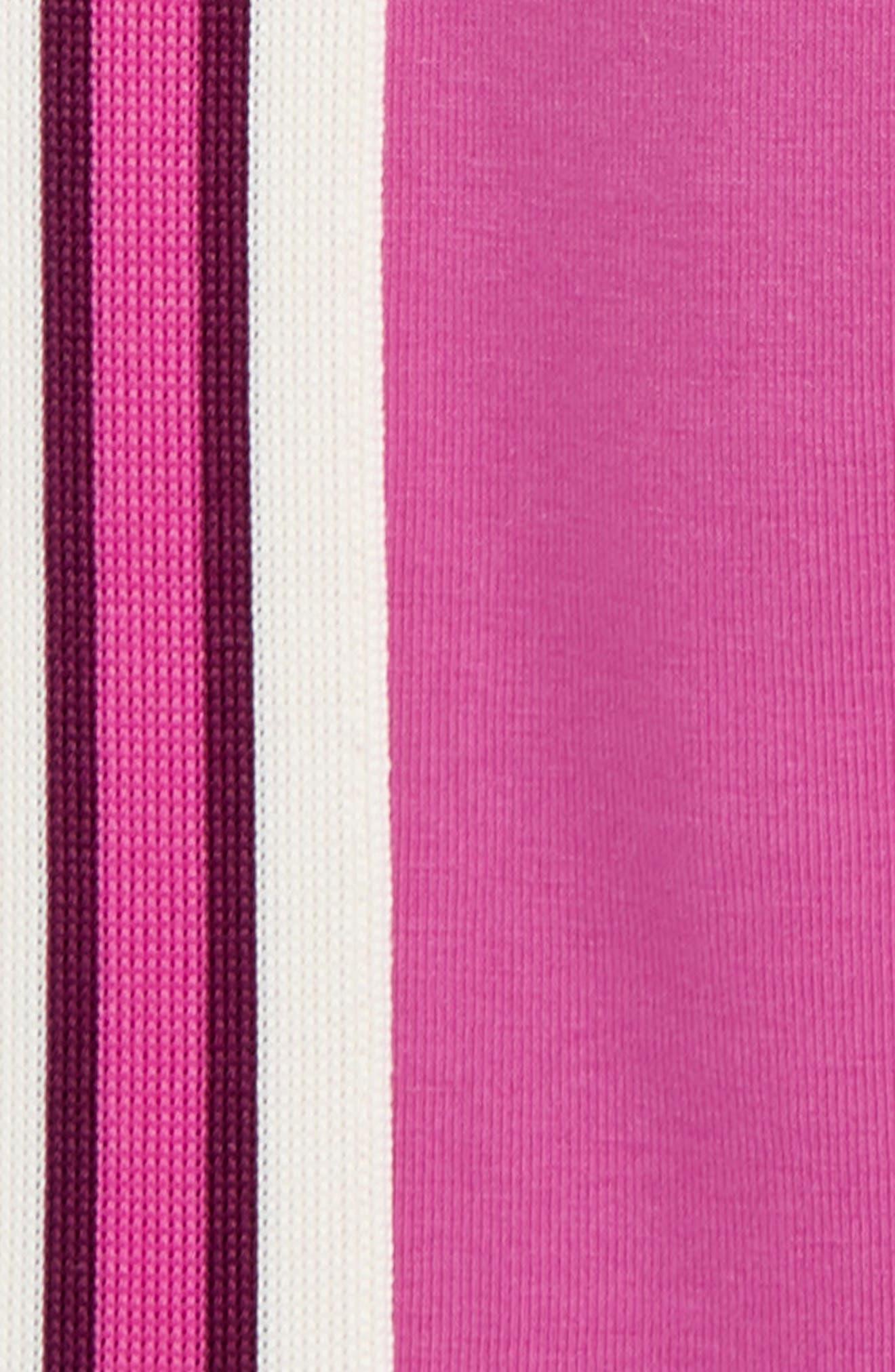 TEA COLLECTION,                             Sporty Stripe Leggings,                             Alternate thumbnail 2, color,                             SNAPDRAGON