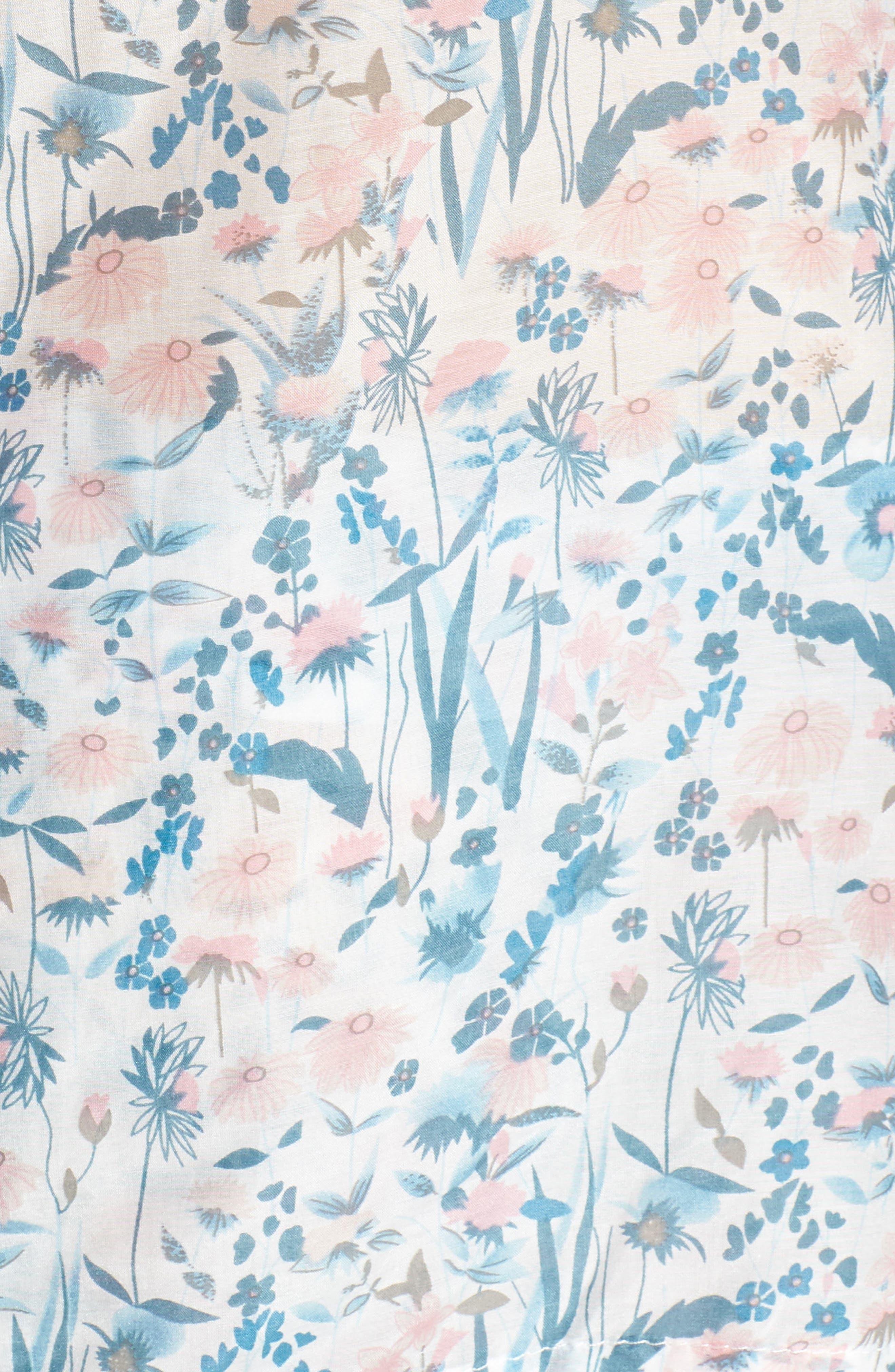 Ellie Crop Pajamas,                             Alternate thumbnail 5, color,                             400