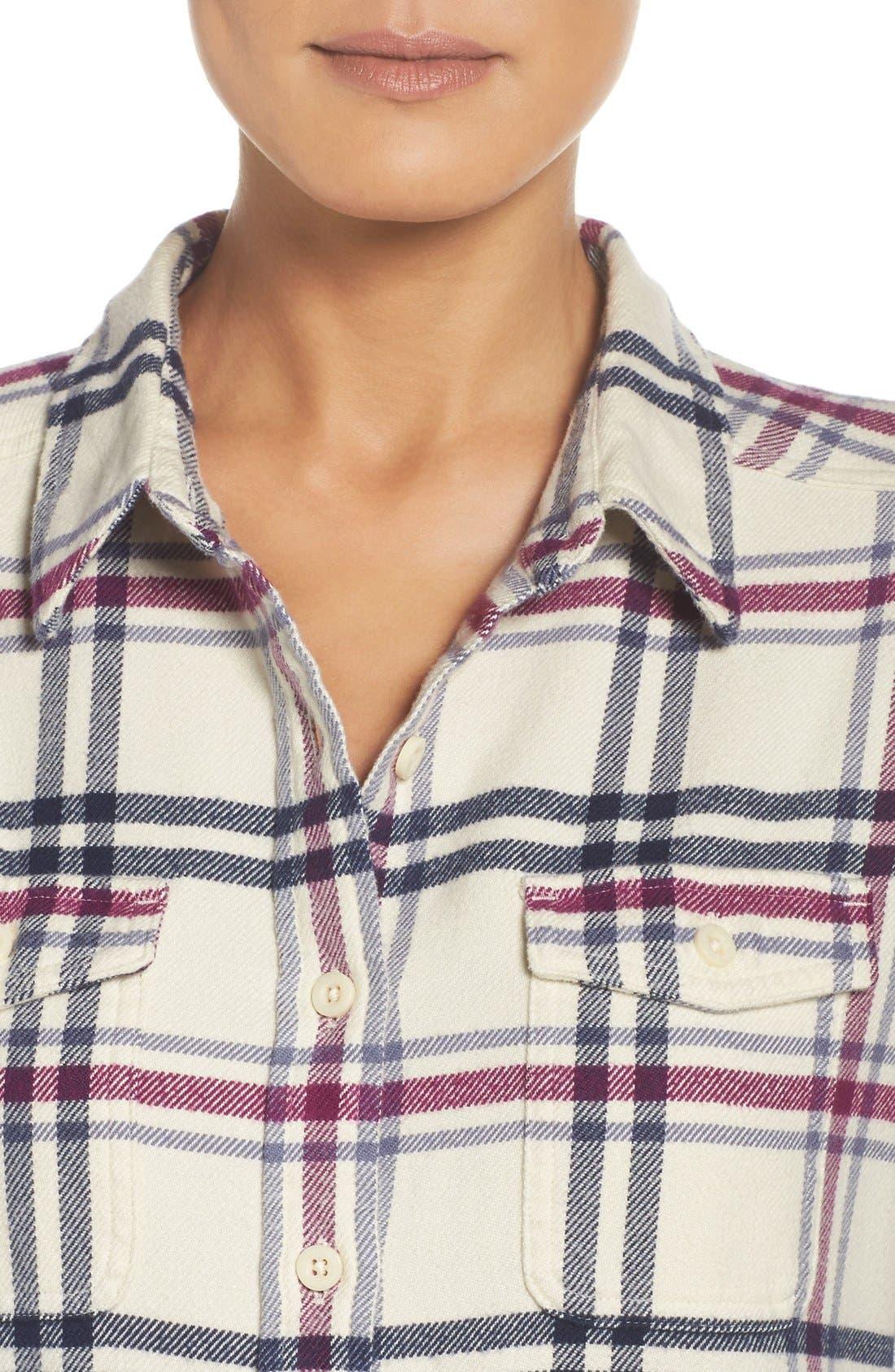 'Fjord' Flannel Shirt,                             Alternate thumbnail 73, color,