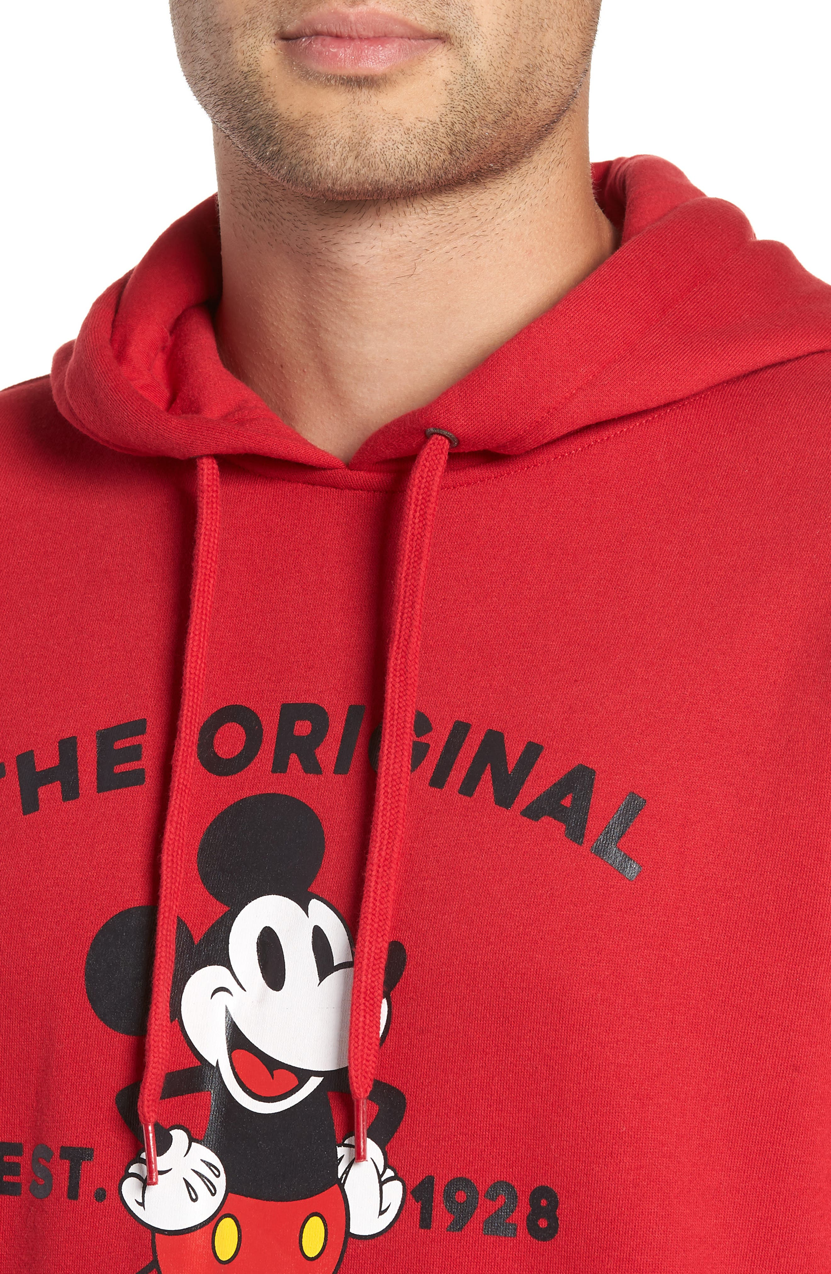 x Disney Mickey's 90th Anniversary Hoodie,                             Alternate thumbnail 4, color,                             601