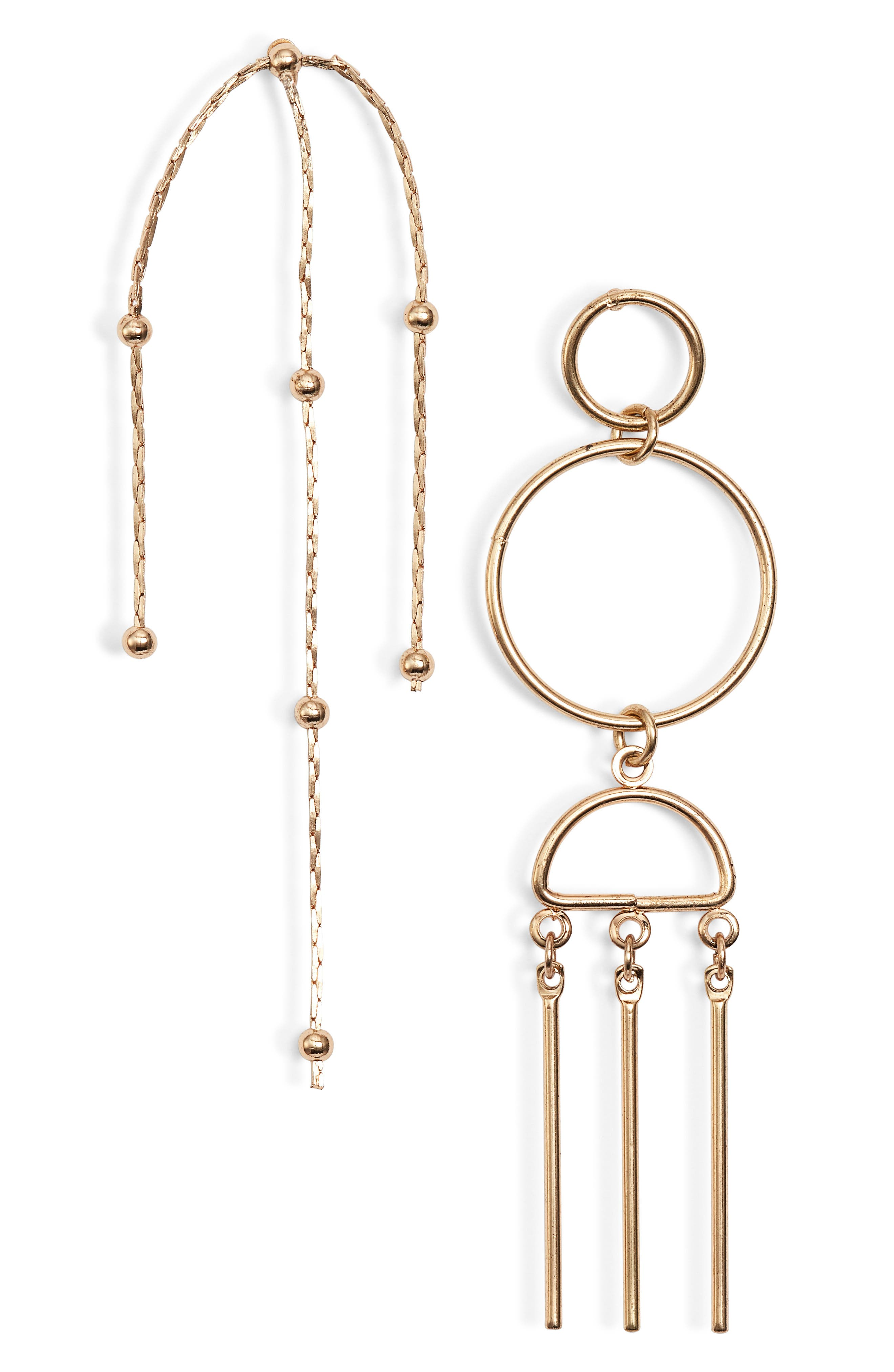 Victory Drop Earrings,                         Main,                         color, GOLD