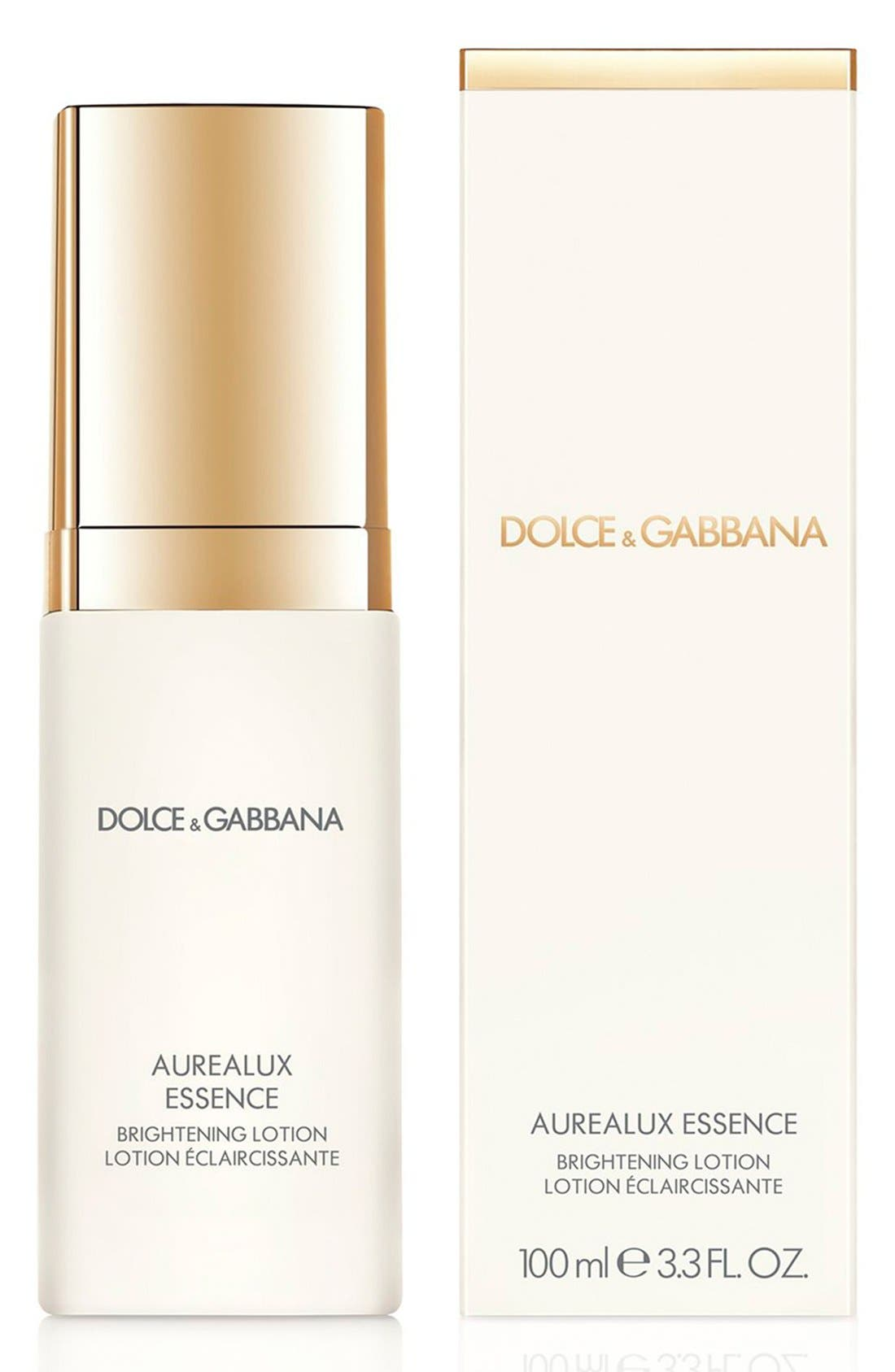 Dolce&Gabbana Beauty 'Aurealux' Essence Brightening Lotion,                             Alternate thumbnail 4, color,                             000