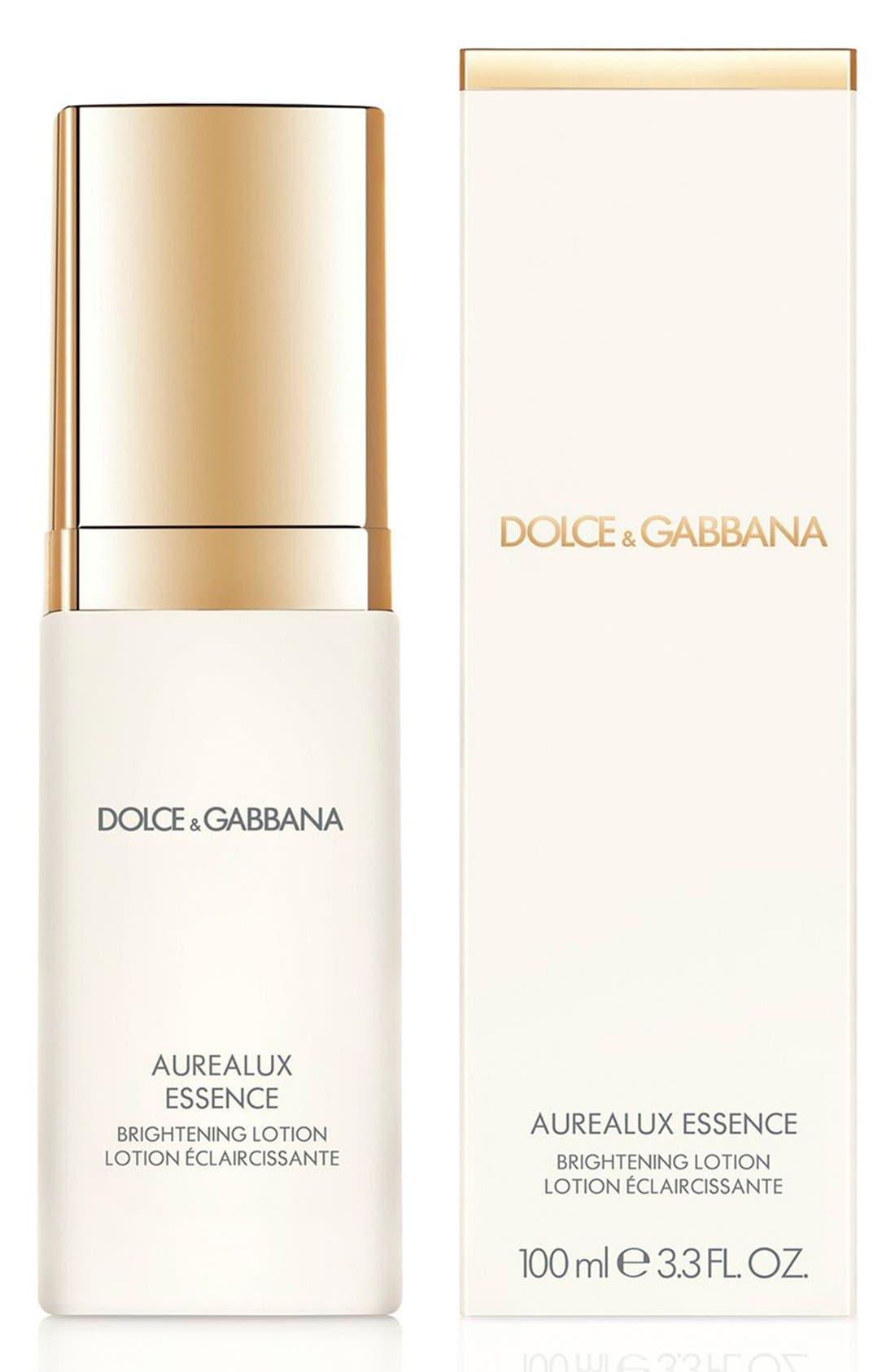 Dolce&GabbanaBeauty 'Aurealux' Essence Brightening Lotion,                             Alternate thumbnail 4, color,                             000