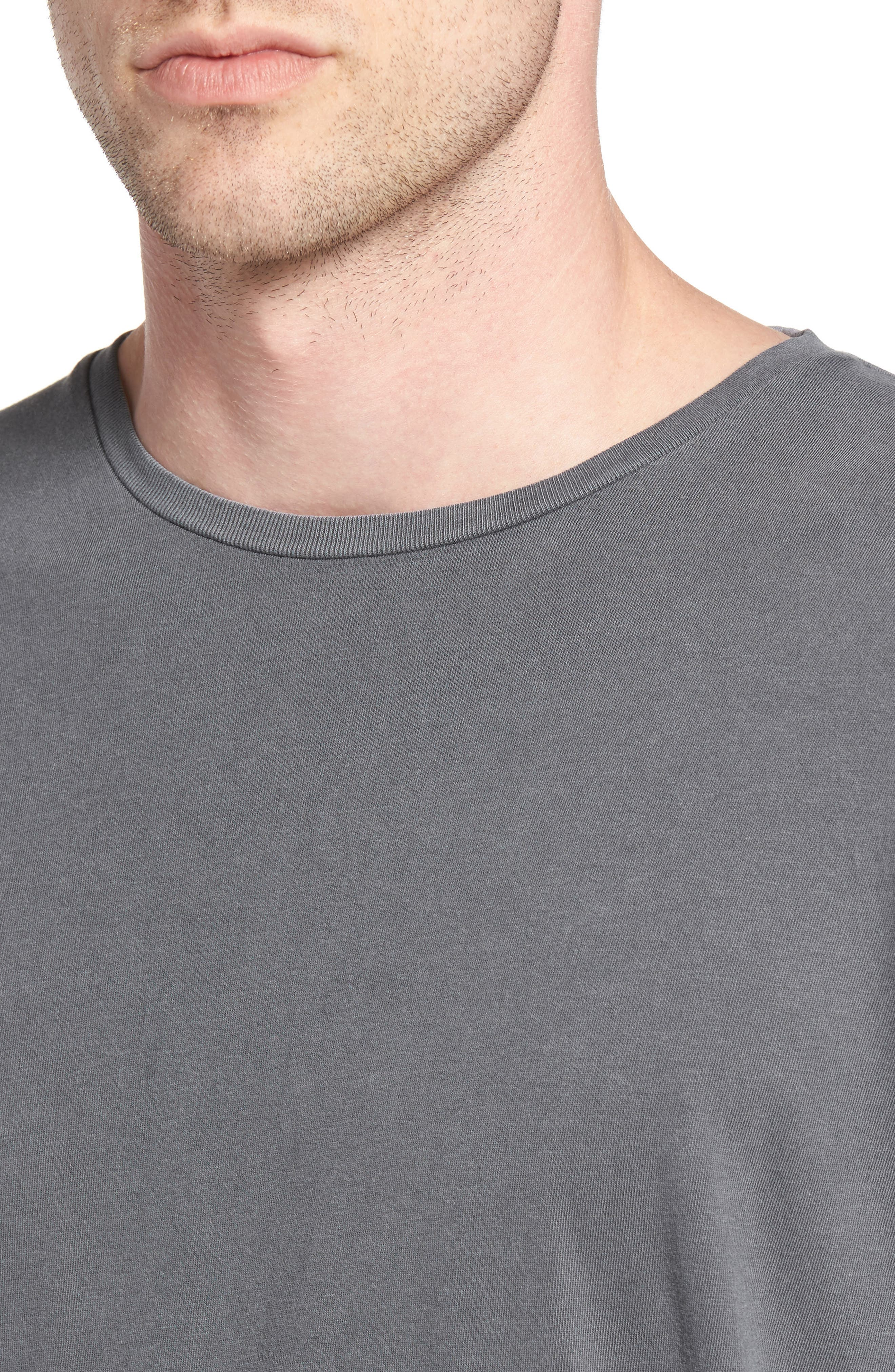 Flintlock Longline T-Shirt,                             Alternate thumbnail 4, color,                             029