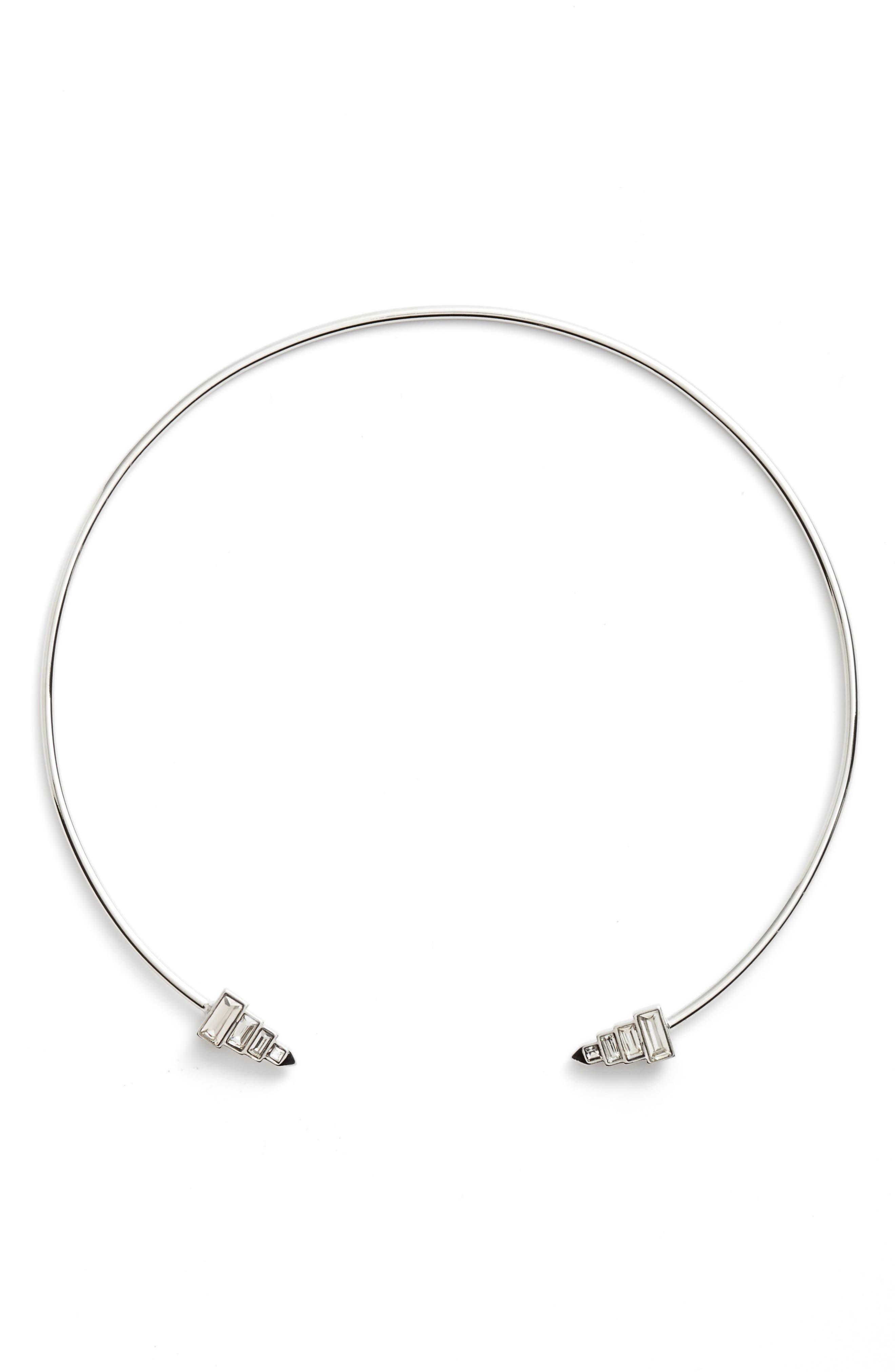 Open Collar Necklace,                             Main thumbnail 1, color,                             040