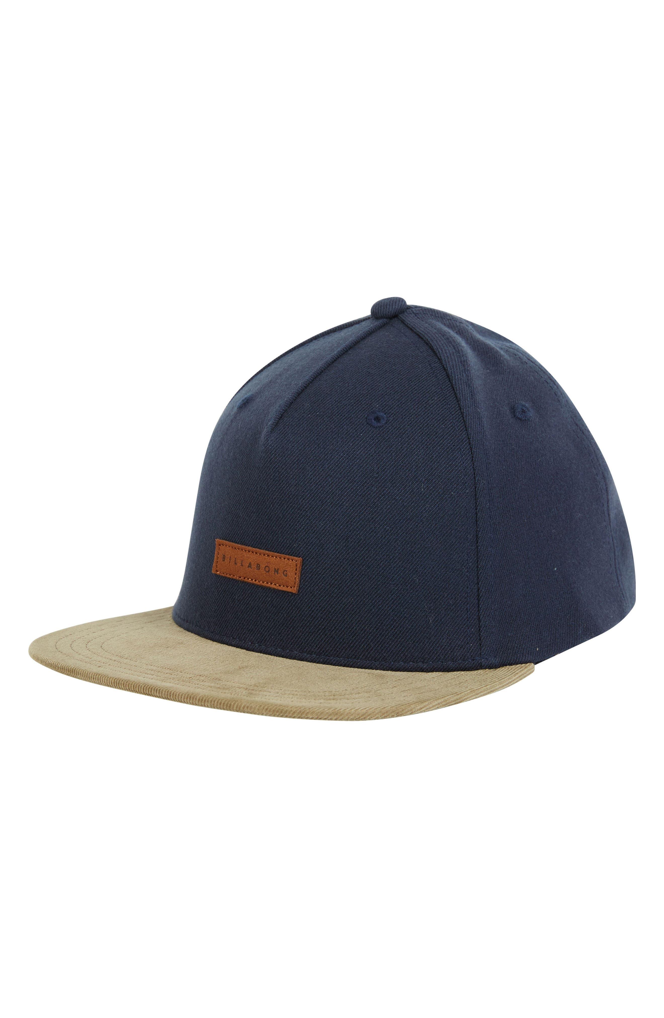 Oxford Snapback Baseball Cap,                             Main thumbnail 1, color,                             NAVY